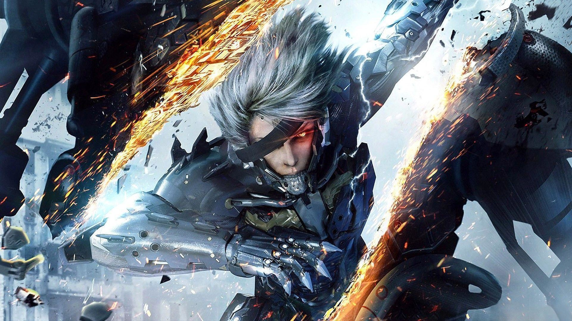 Metal Gear Solid Rising Wallpapers 76 Pictures