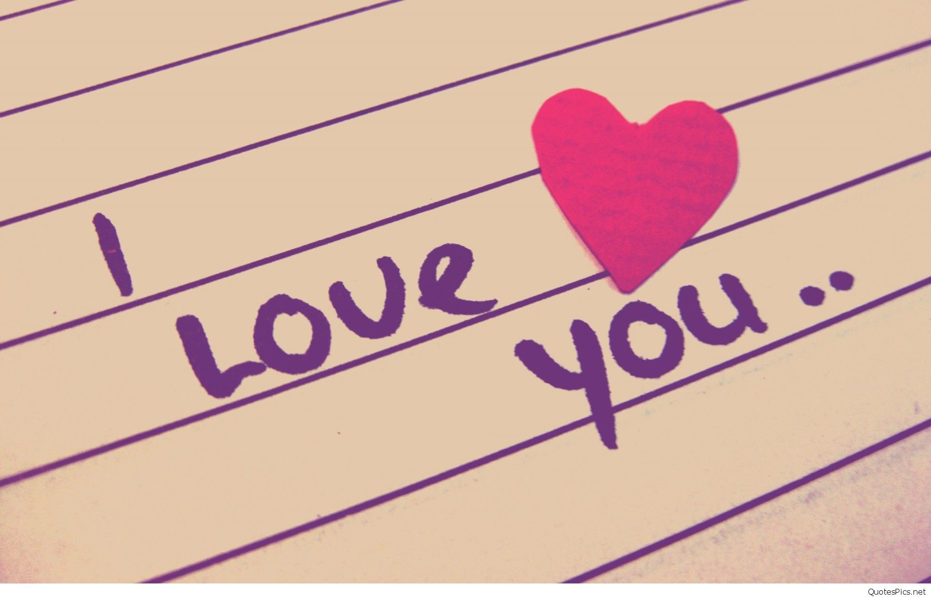 I Love You Wallpapers with Quotes (55+ pictures)