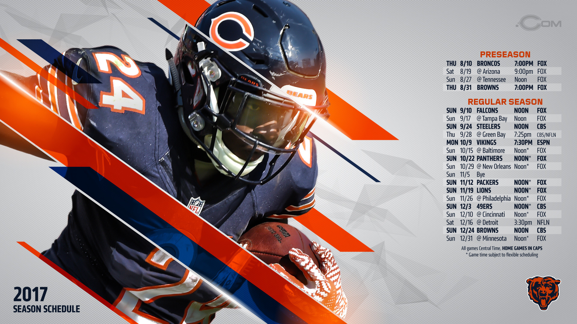 Chicago bears wallpaper 2018 59 pictures popular resolutions voltagebd Images