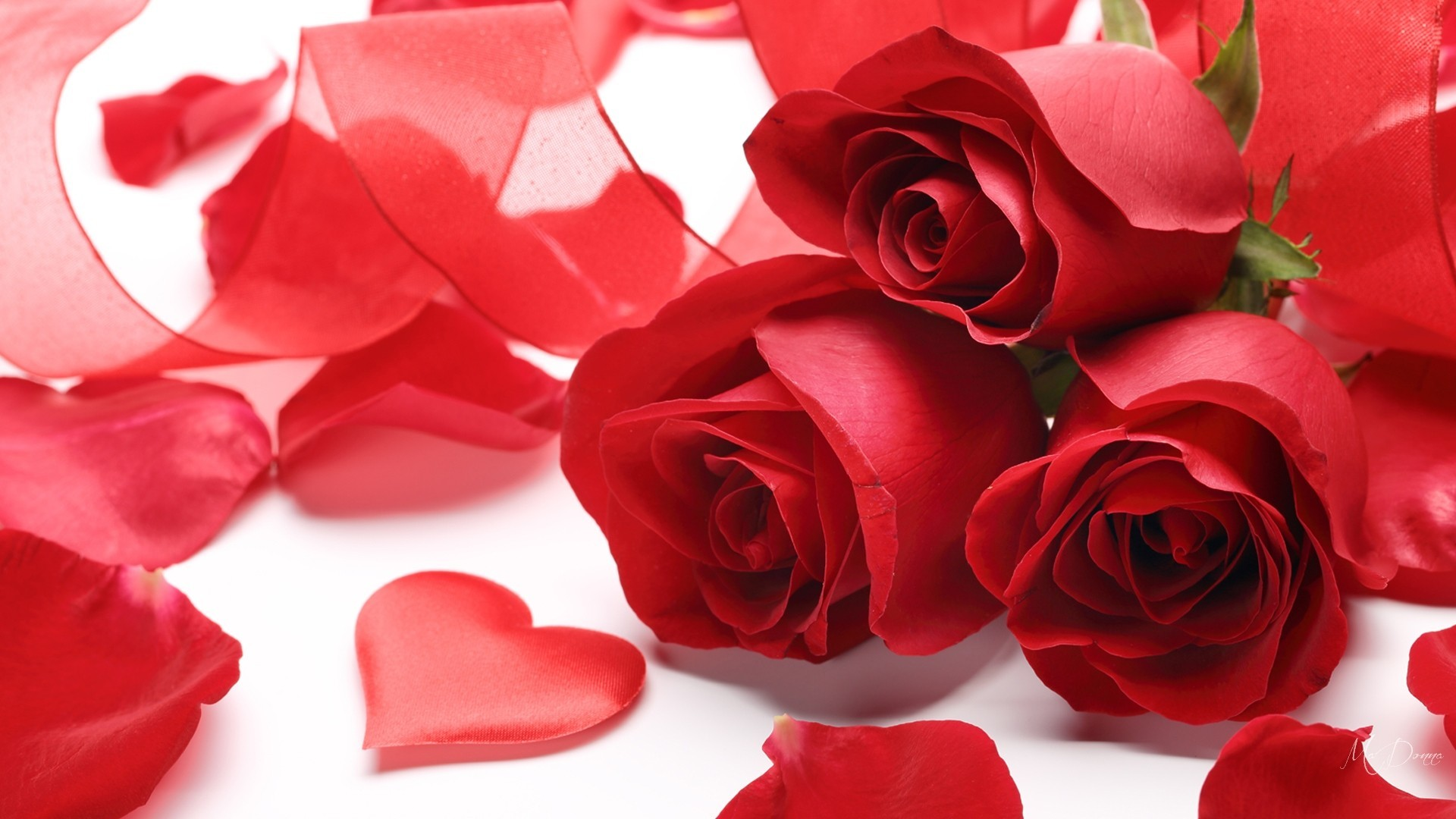 Hearts and flowers wallpaper 63 pictures - Valentine s day flower wallpaper ...