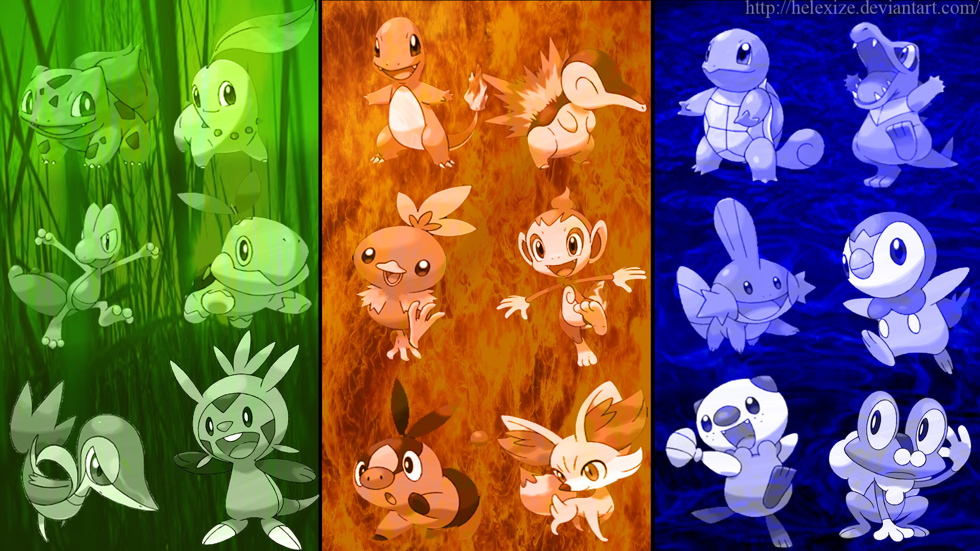 Starter Pokemon Wallpapers 81 Pictures