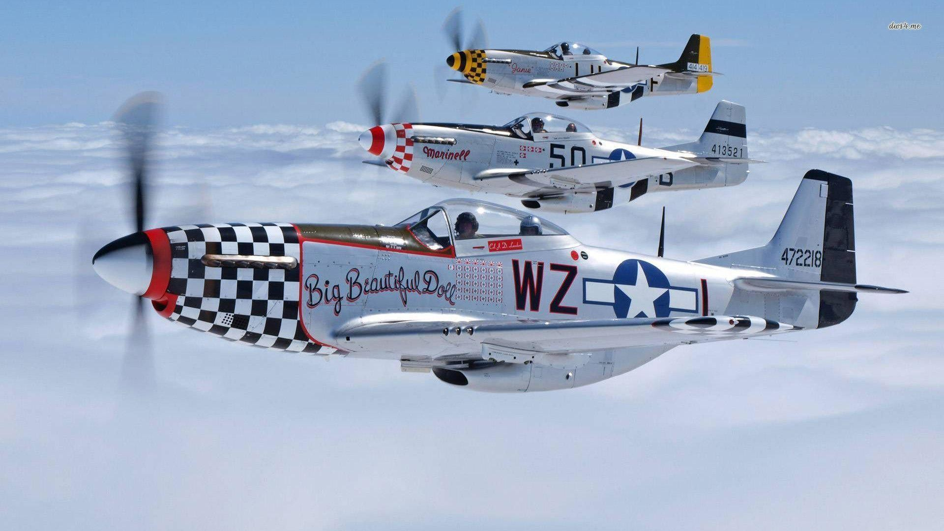 P 51 Mustang Wallpapers 68 Pictures