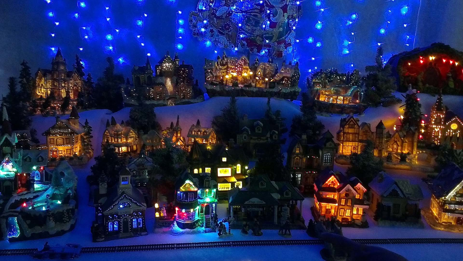 Christmas Village Background 50 Pictures