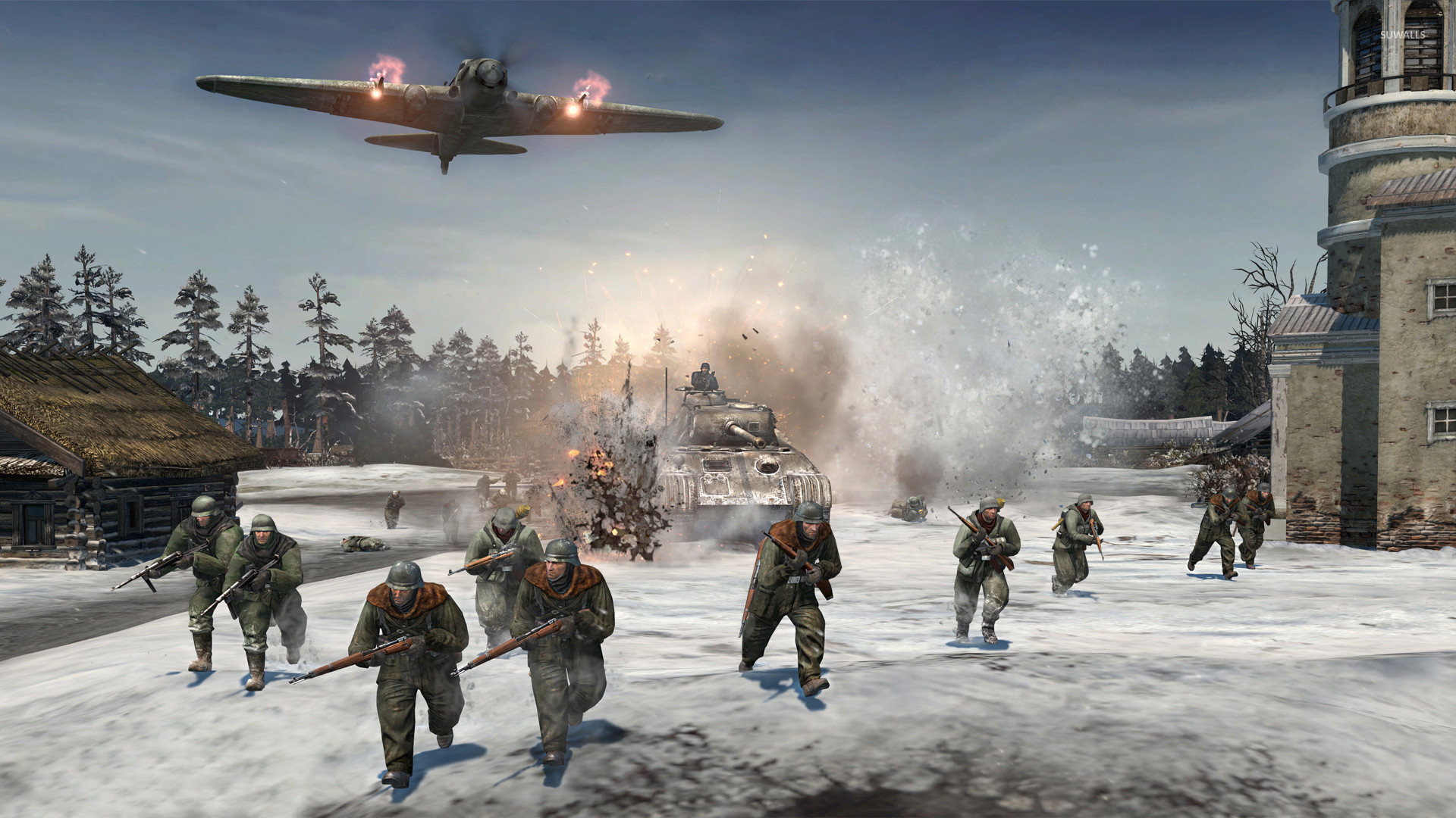 company of heroes 2 wallpaper (88+ pictures)