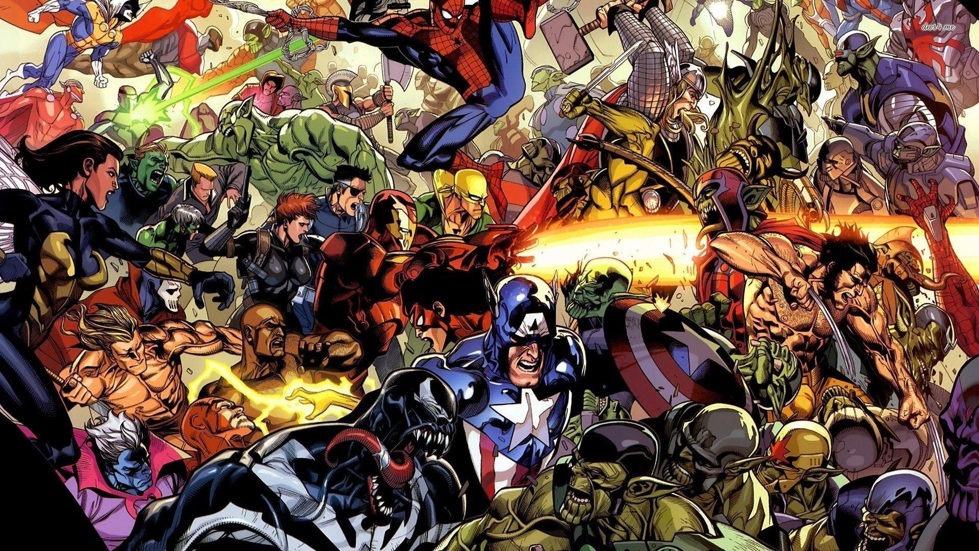 Marvel Universe Wallpaper (70+ pictures)