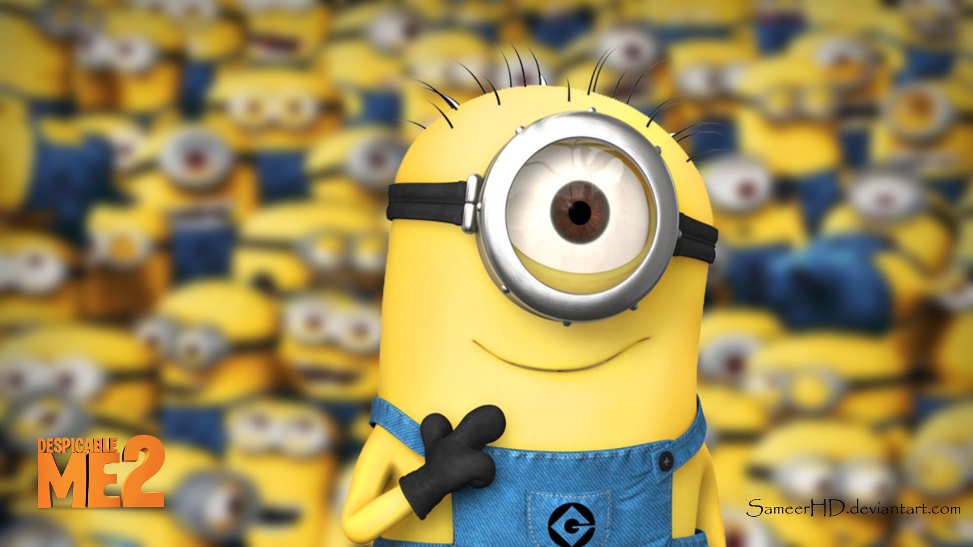 1920x1080 Despicable Me 2 Minion Wallpaper By SameerHD On DeviantArt