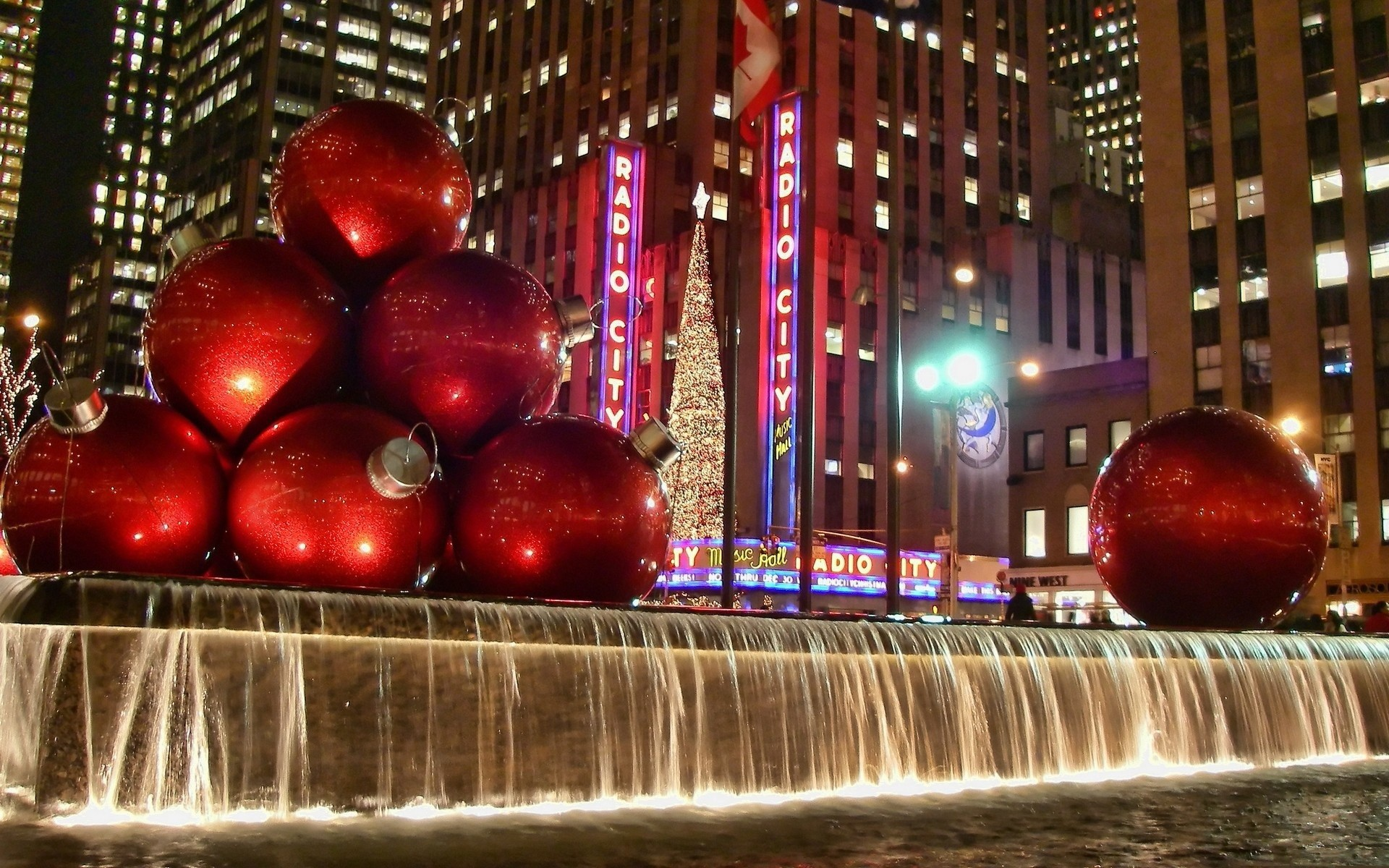 New York Christmas Wallpaper 67 Pictures