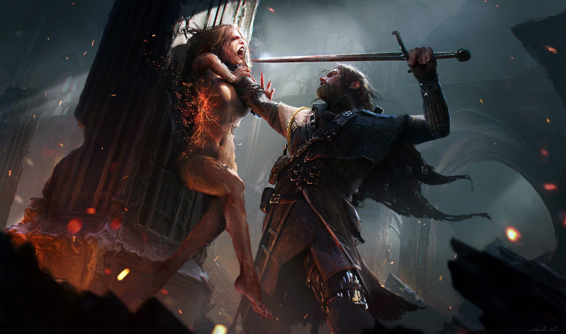 The witcher wallpaper 81 pictures - Fantasy wallpaper 3440x1440 ...