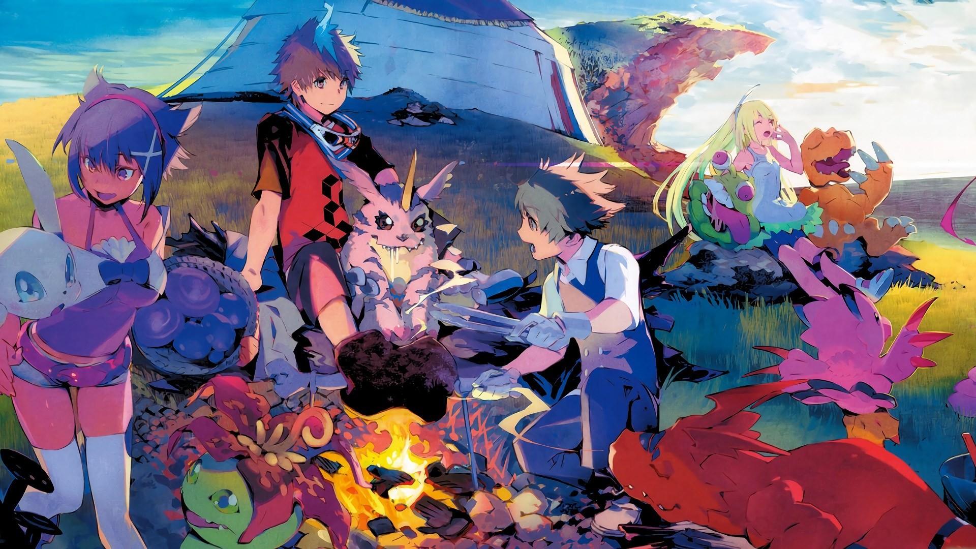 Digimon Adventure Tri Wallpaper Android