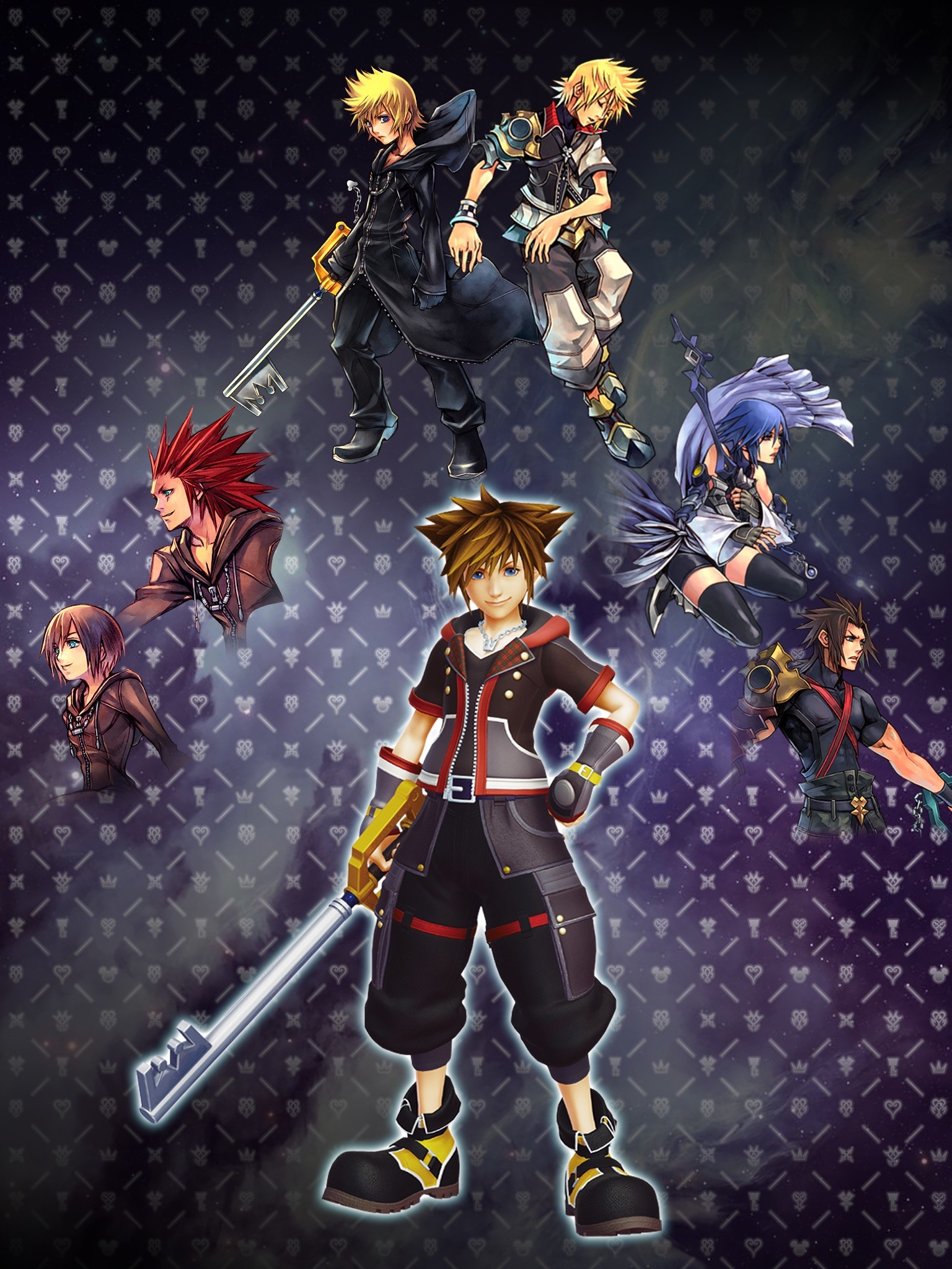Kingdom Hearts Mobile Wallpaper 67 Pictures