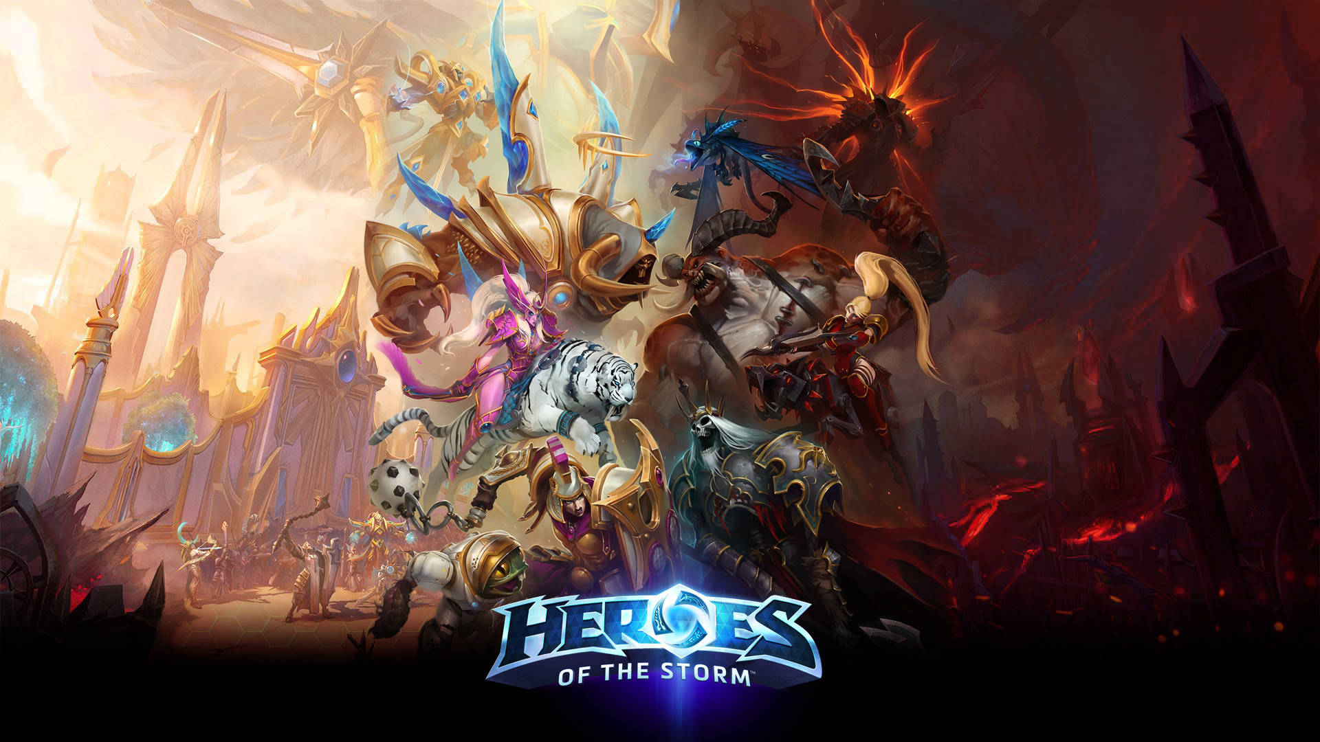 Heroes Of The Storm Wallpapers 61 Pictures