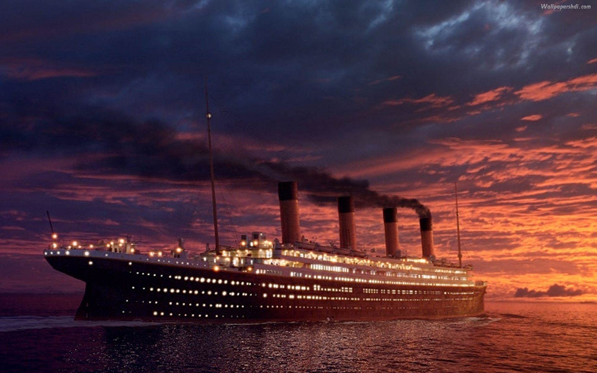 Titanic Ship Wallpaper 55 Pictures