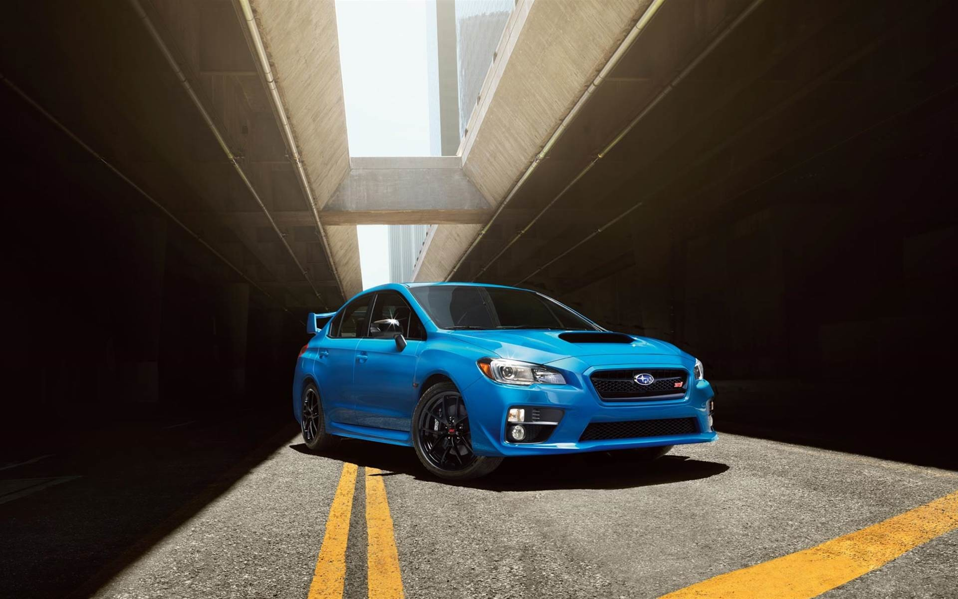 1920x1080 Subaru WRX STI JDM Crystal City Car 2014