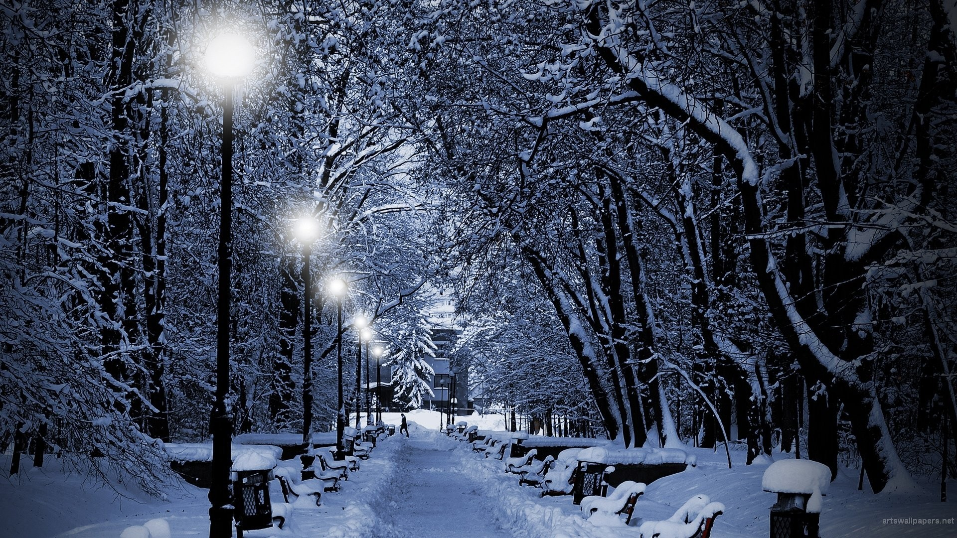 Snow Scenery Wallpaper 64 Pictures