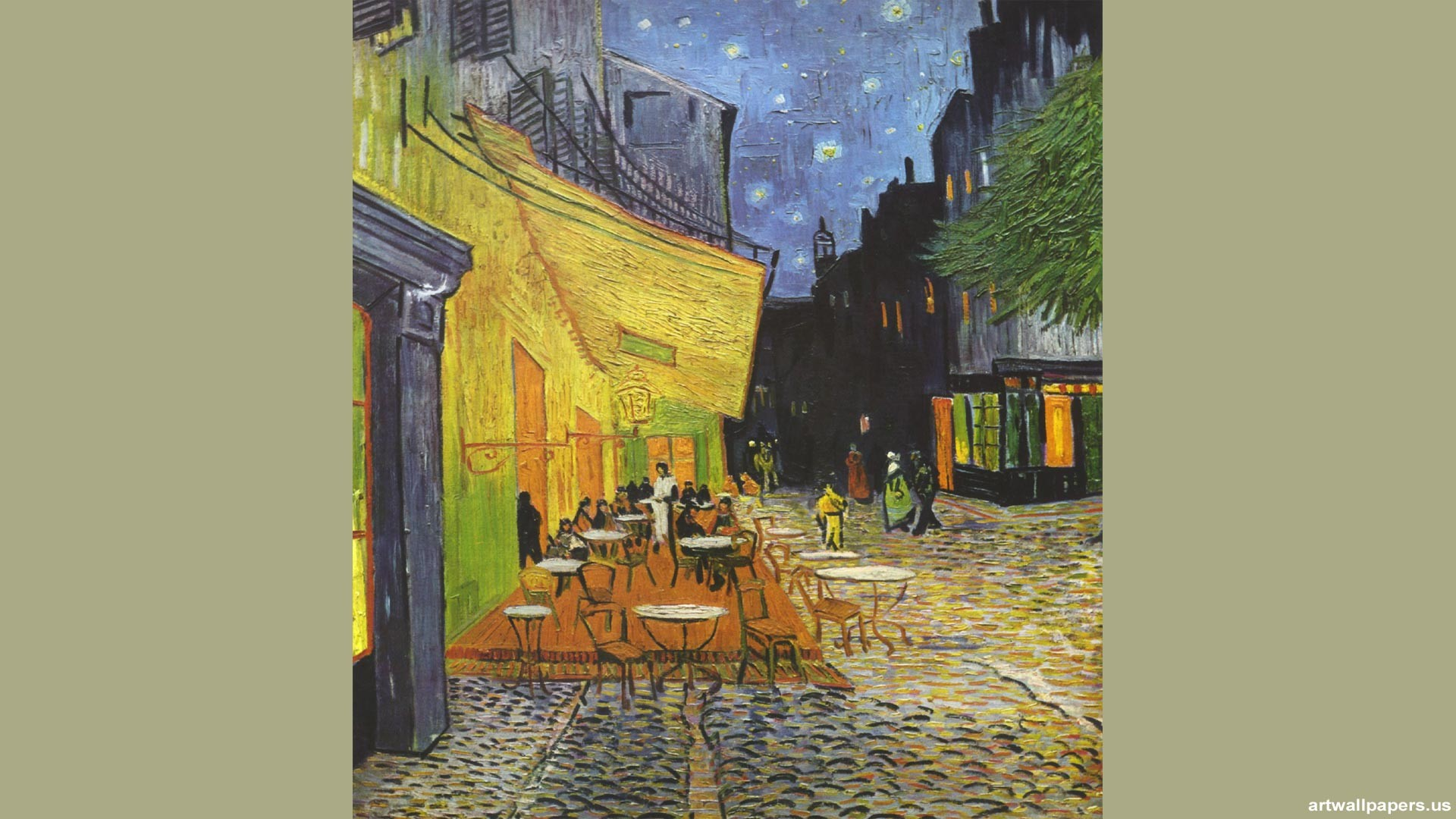 Starry Night Over The Rhone Wallpaper 54 Pictures