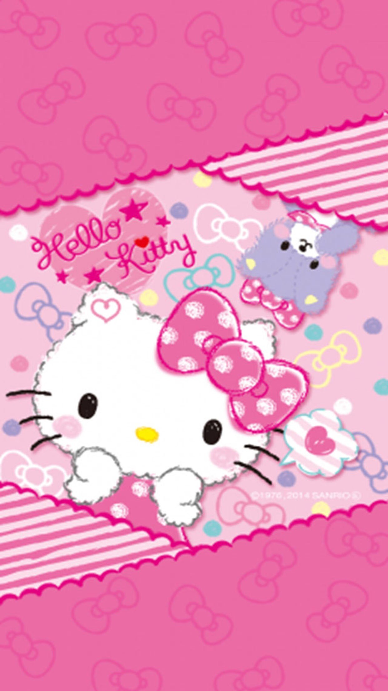 Hello kitty pink wallpaper 60 pictures - Hello kitty wandlampe ...