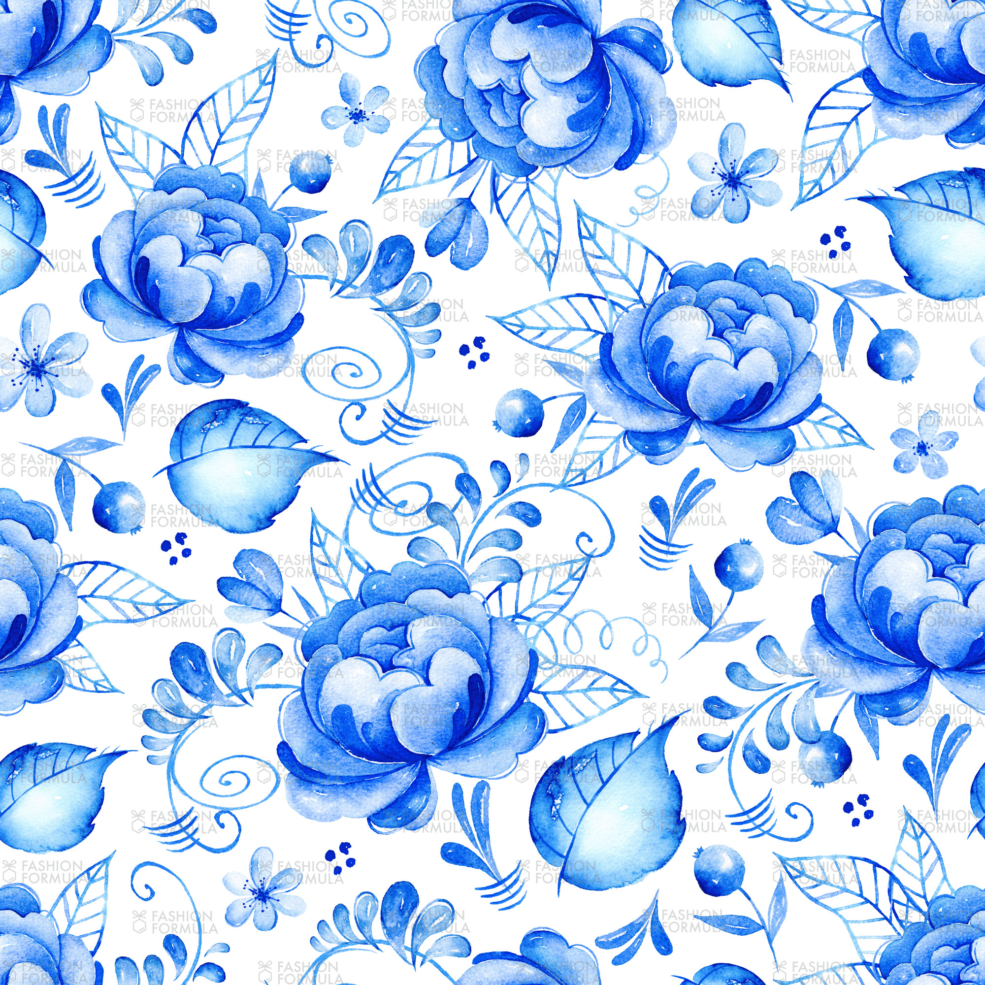 Blue Floral Background (41+ Pictures
