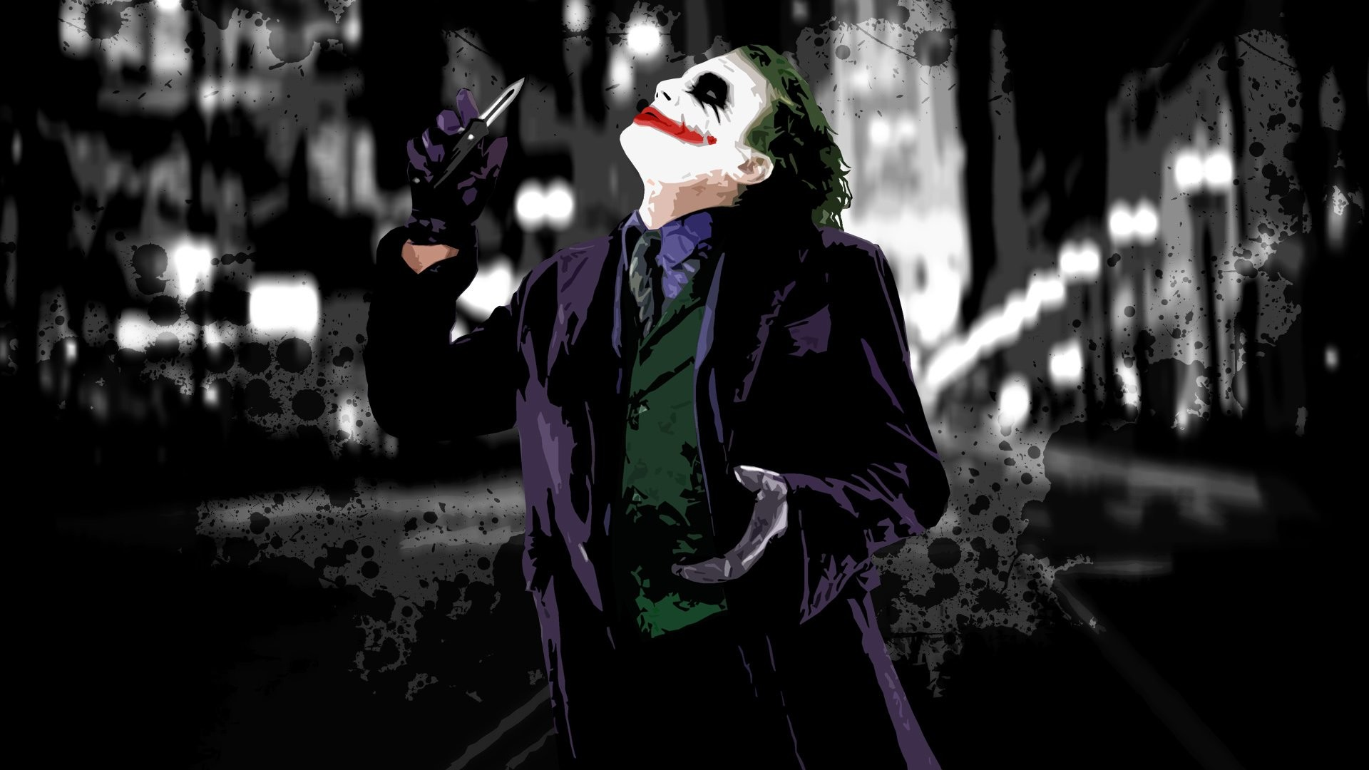 1920x1080 The Dark Knight Joker Desktop Wallpapers HD | Movie HD Wallpapers