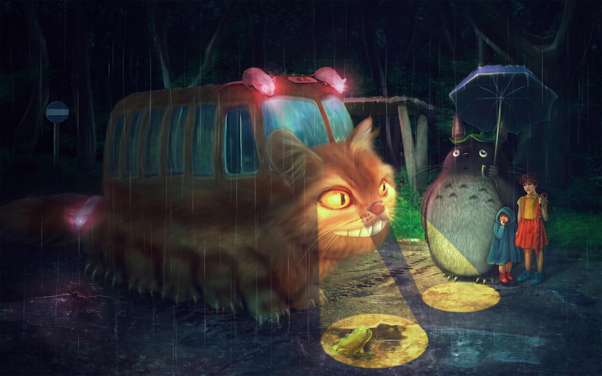 My Neighbor Totoro Wallpaper 64 Pictures