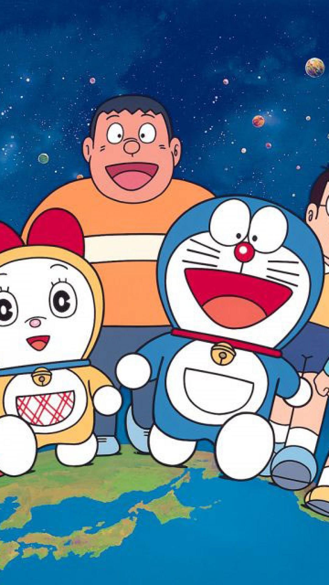 Wallpapers Doraemon (60+ pictures)