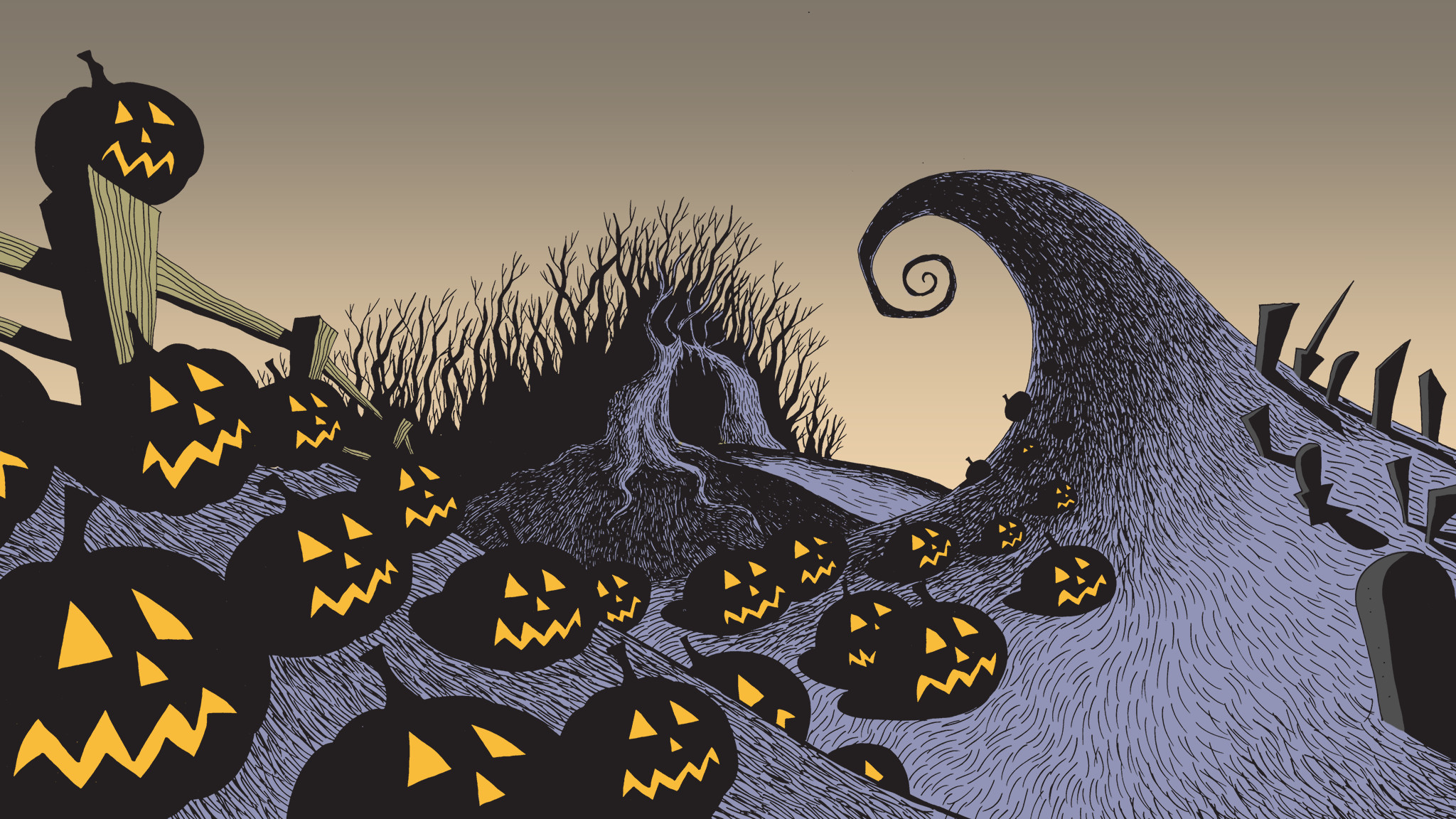 Nightmare Before Christmas Backgrounds (61+ pictures)
