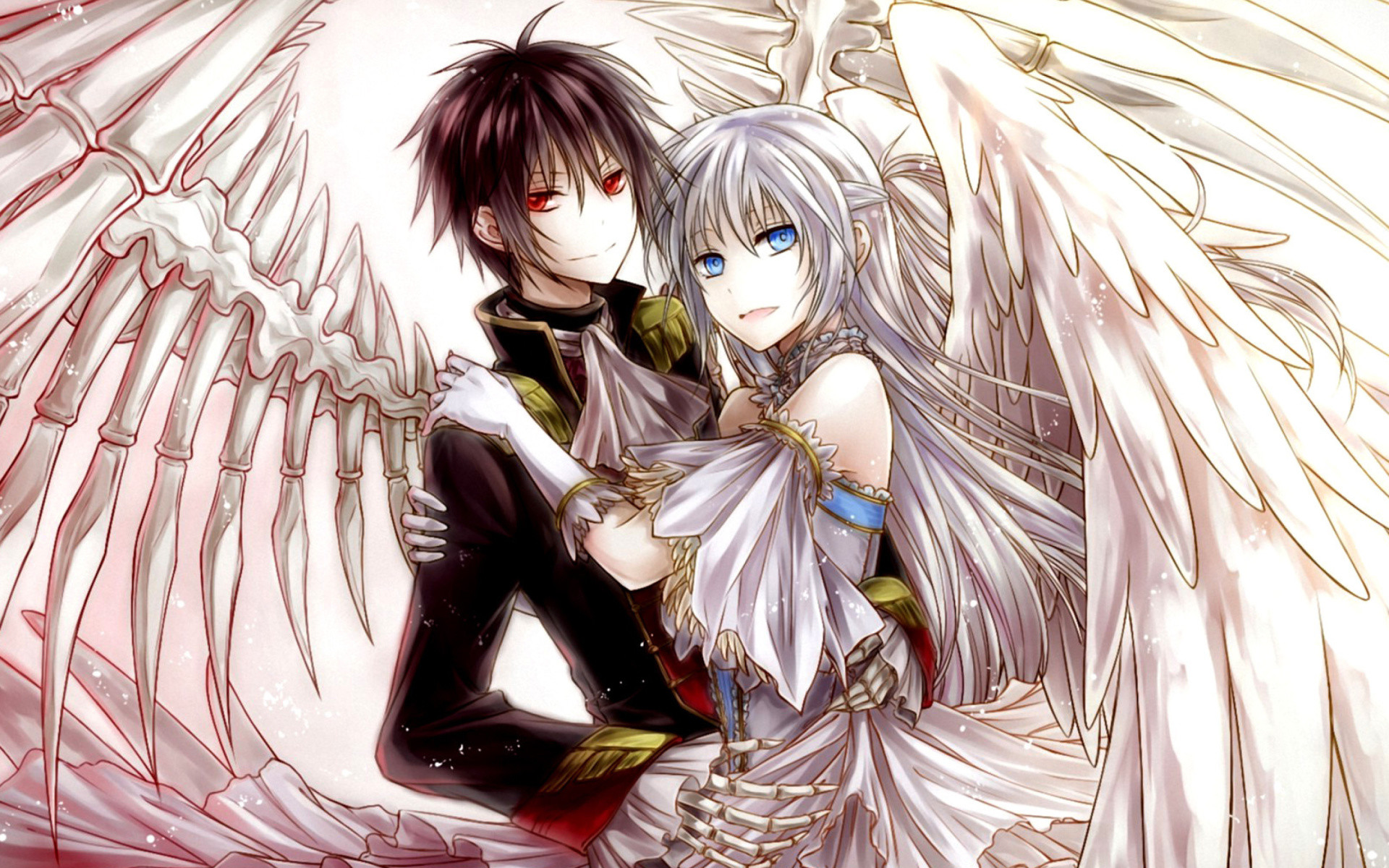 Beautiful Anime Couple Wallpaper