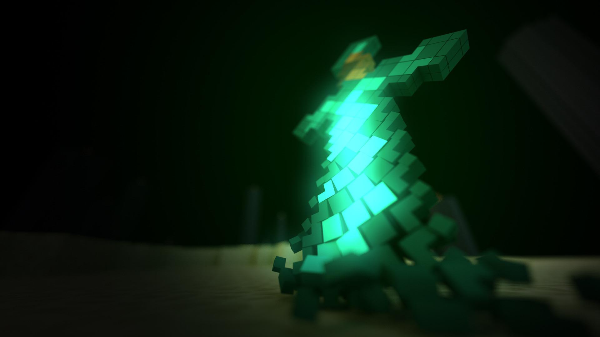 Minecraft Sword HD Wallpaper 1920x1080 1920x1080