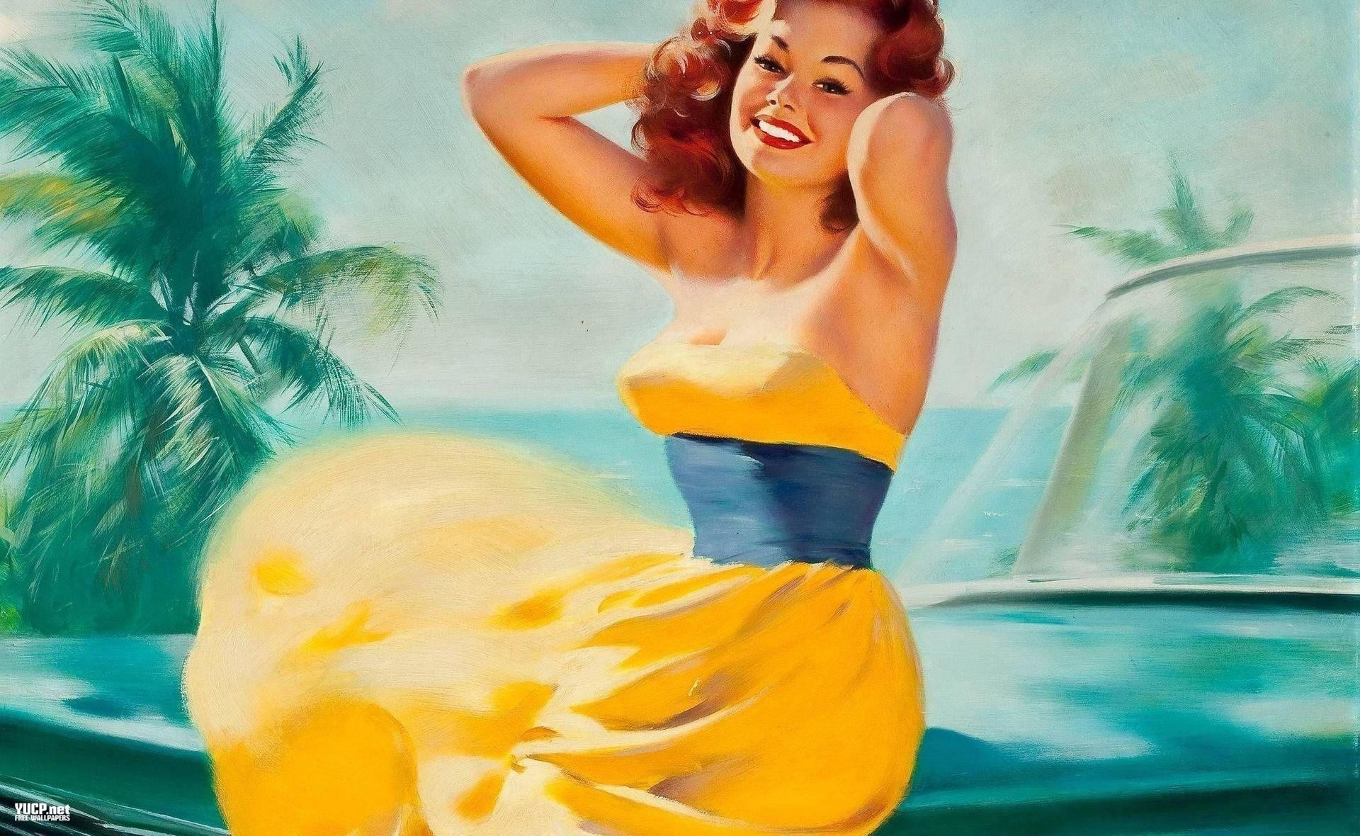 Pin Up Girl Wallpapers