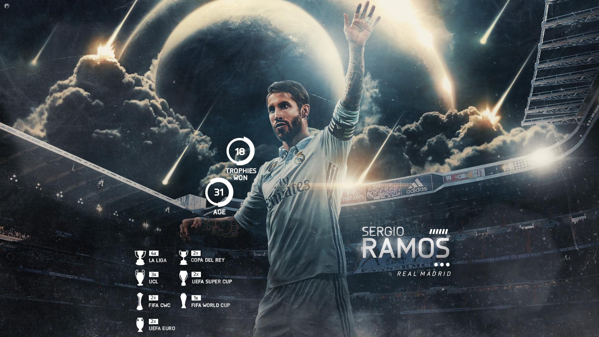 Sergio Ramos Wallpaper Hd