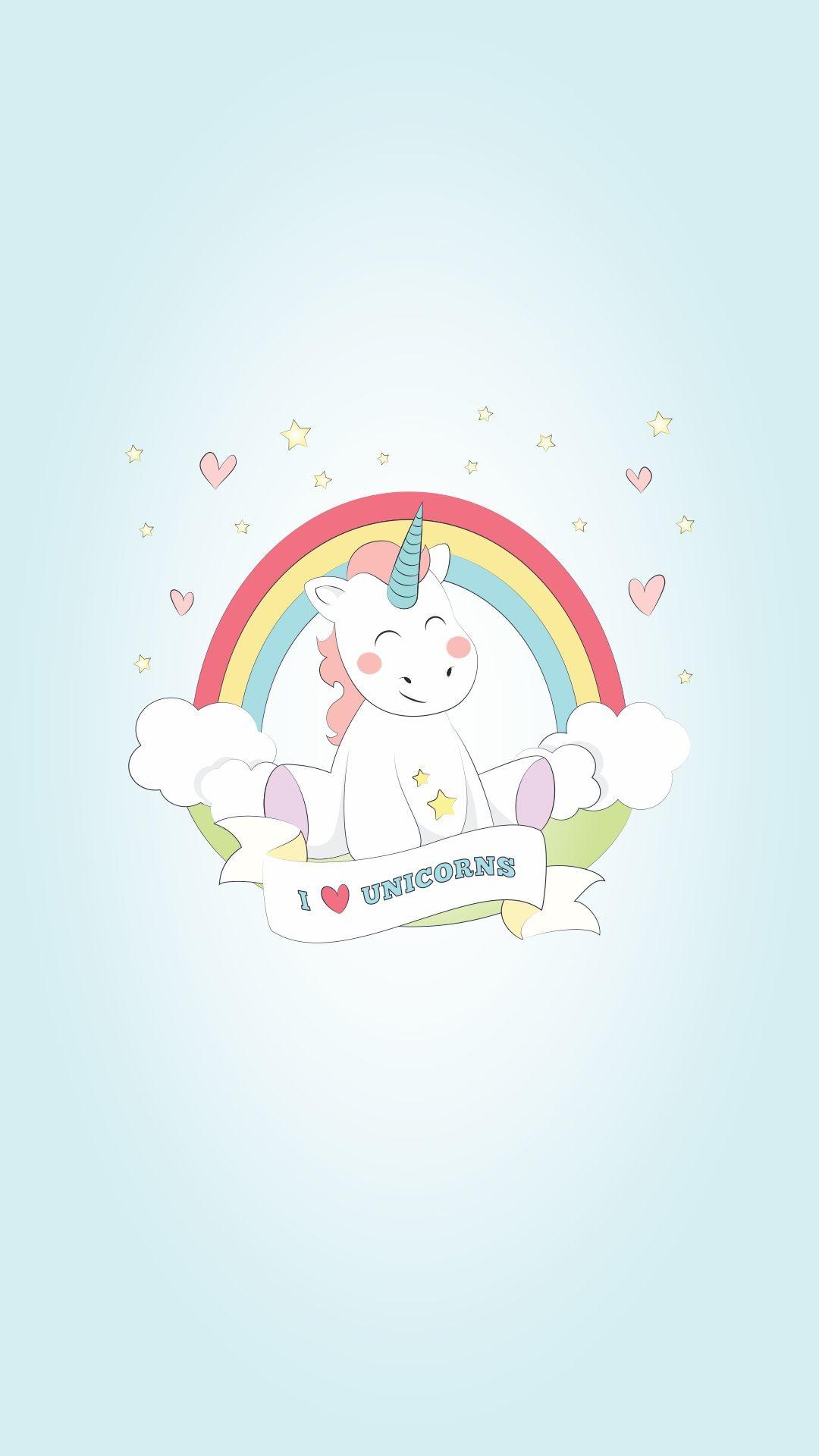 2353x1729 Little Princess And Unicorn Wallpaper