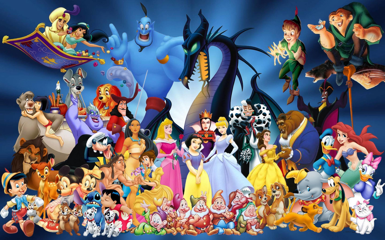Disney Characters Wallpaper 56 Pictures