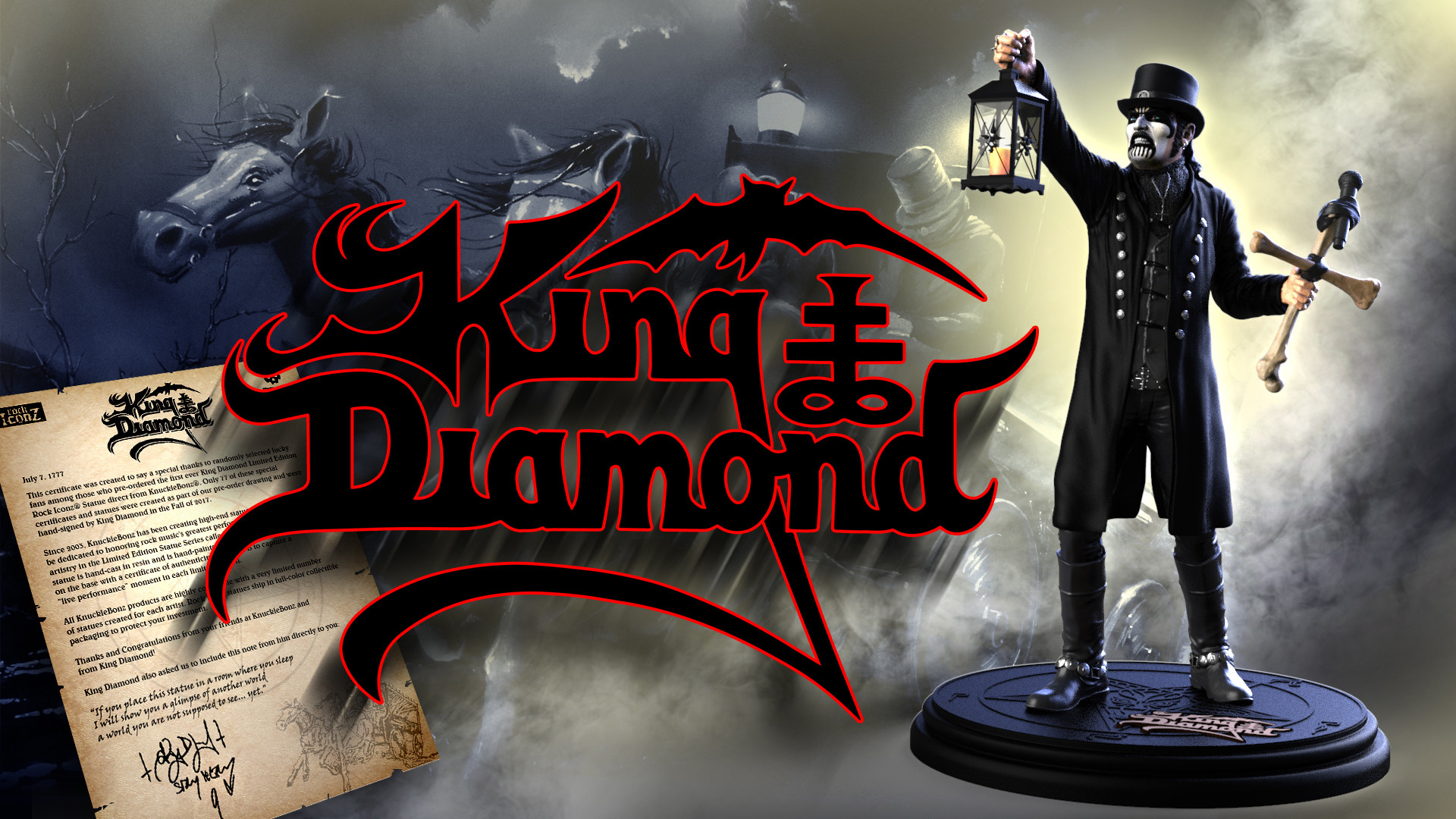 King Diamond Wallpaper 53 Pictures