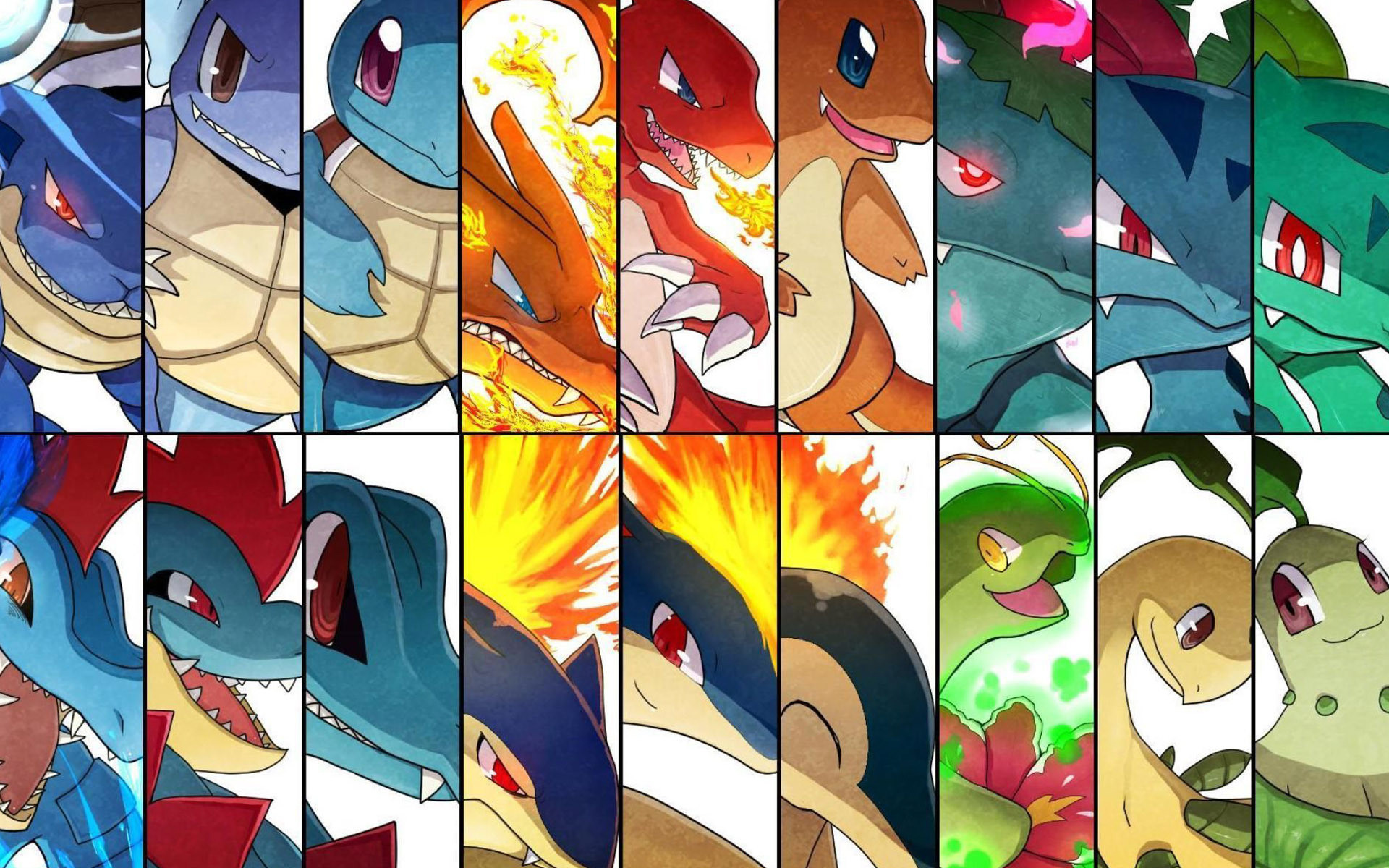 1920x1080 I Am Starting To Use Photoshop And Made This Cyndaquil Wallpaper