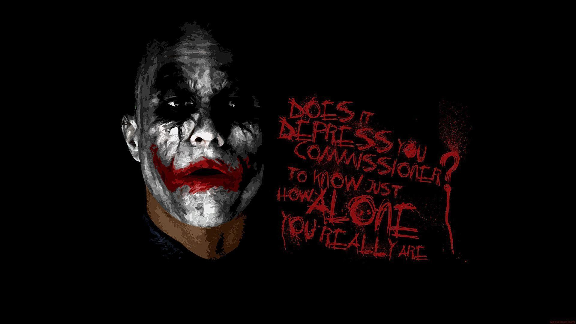 Joker Quotes Wallpapers (4+ pictures)
