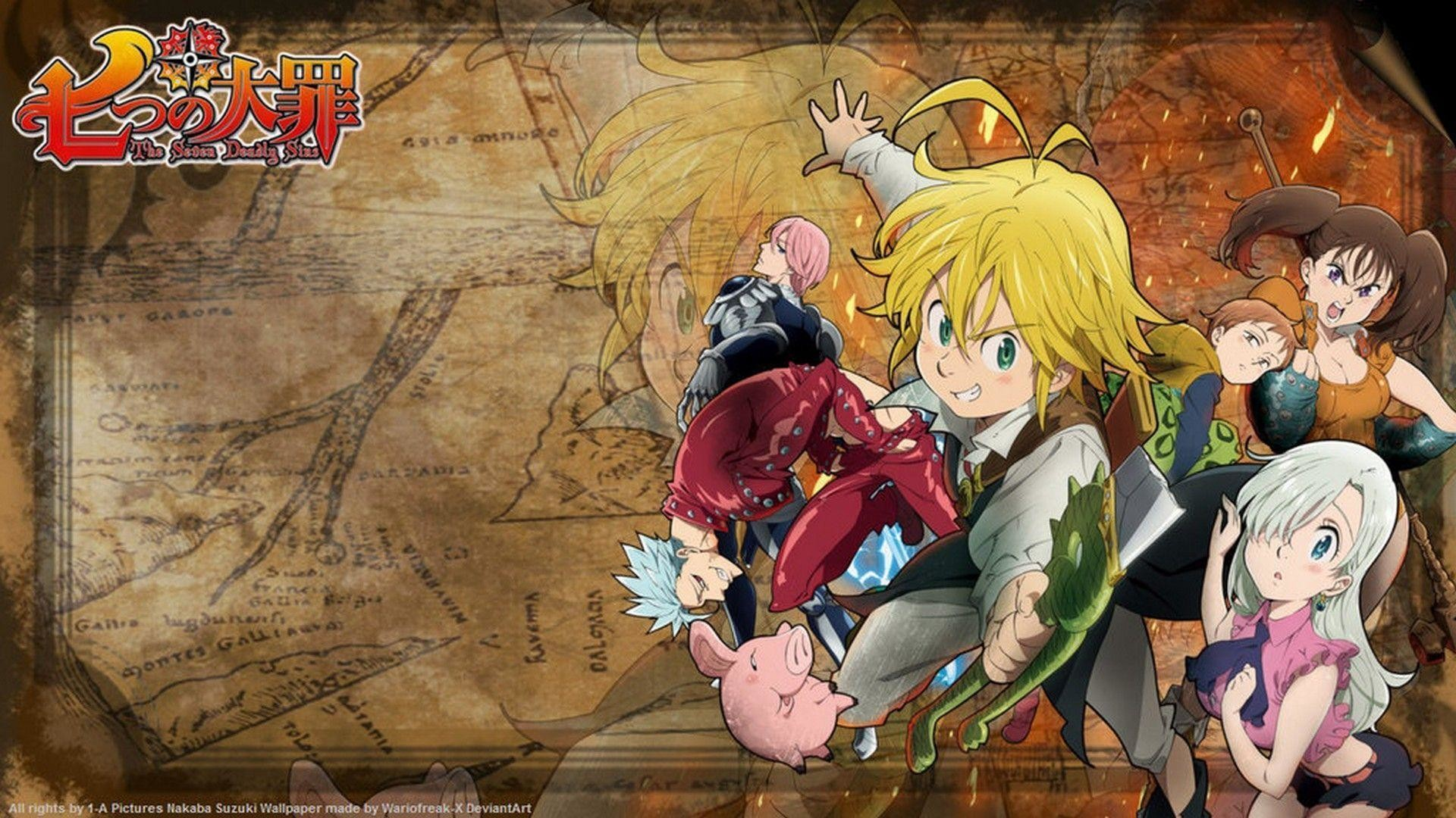 Nanatsu No Taizai Wallpapers 57 Pictures
