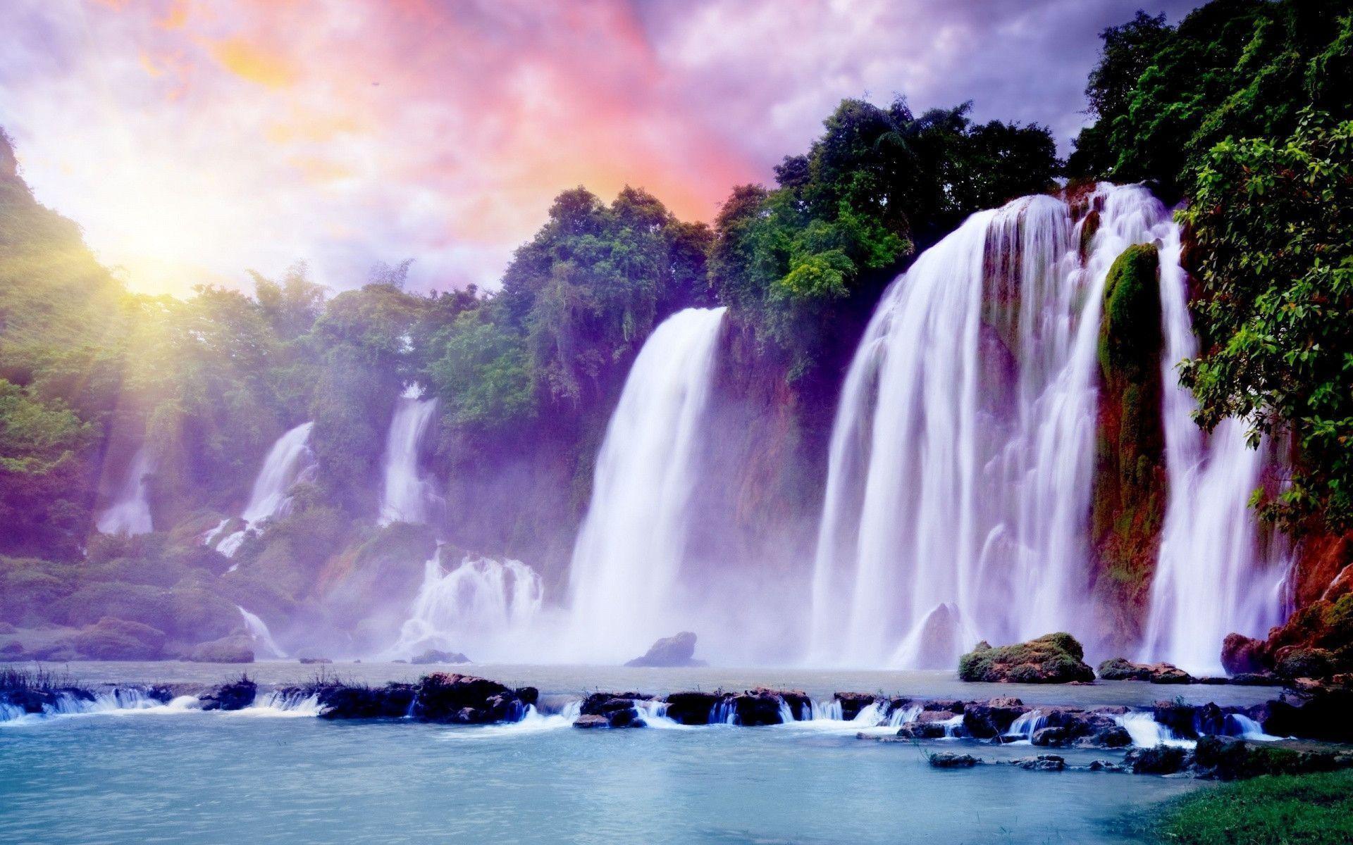 Waterfall Desktop Wallpaper (76+ pictures)