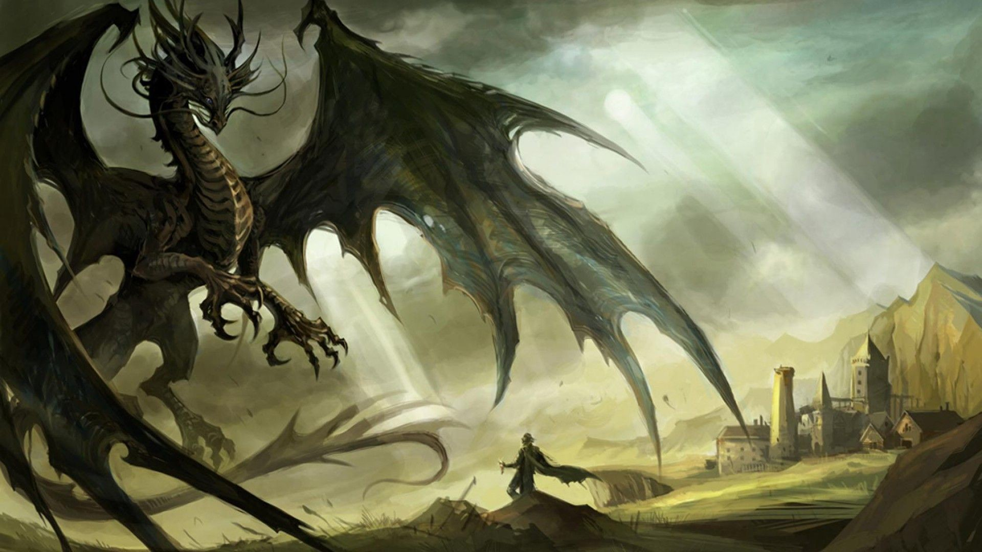 Dragons wallpapers hd 73 pictures 1920x1080 video games fantasy art the elder scrolls v skyrim dragon wallpapers hd desktop and mobile backgrounds voltagebd Choice Image