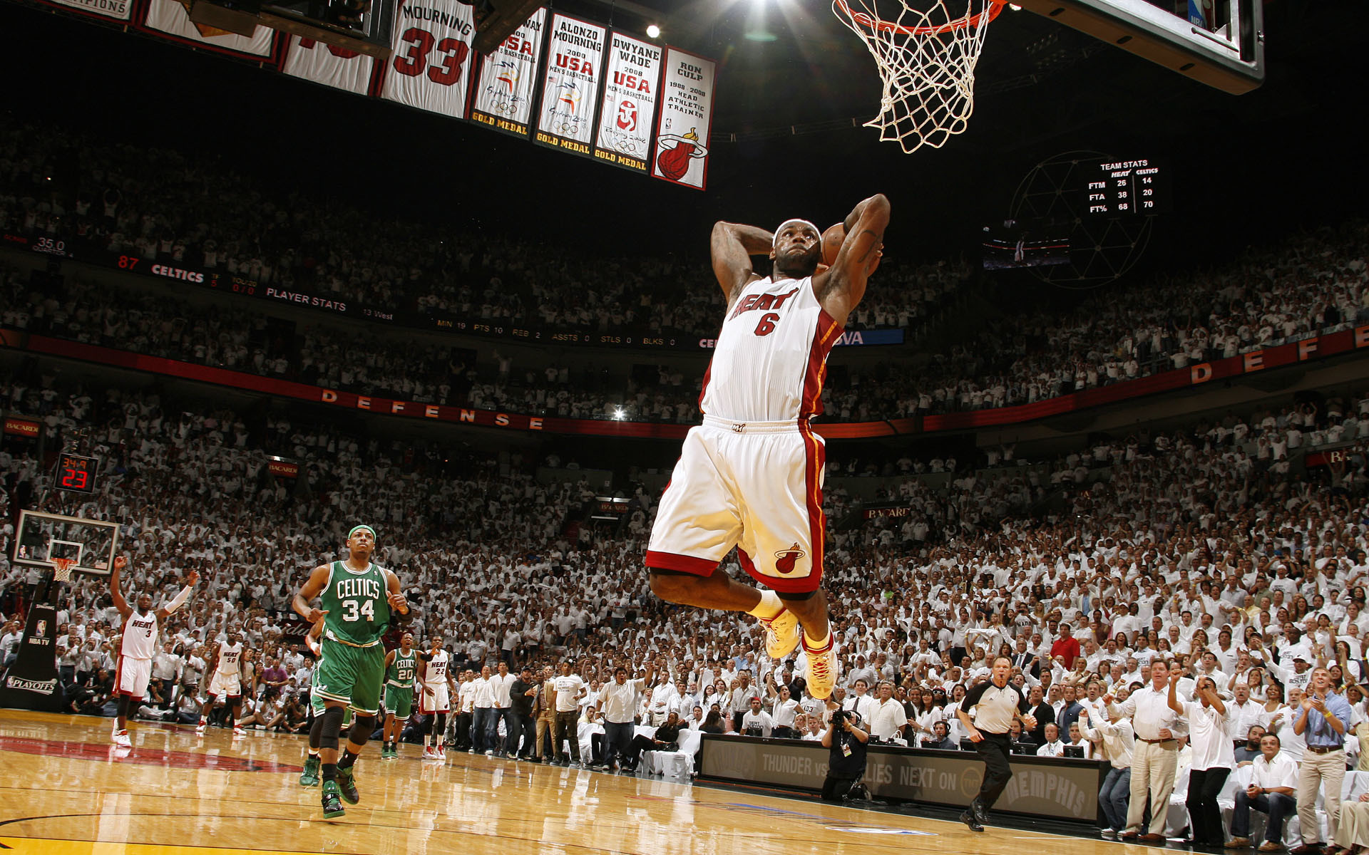 Lebron James Dunk Heat Wallpaper 2018 63 Pictures