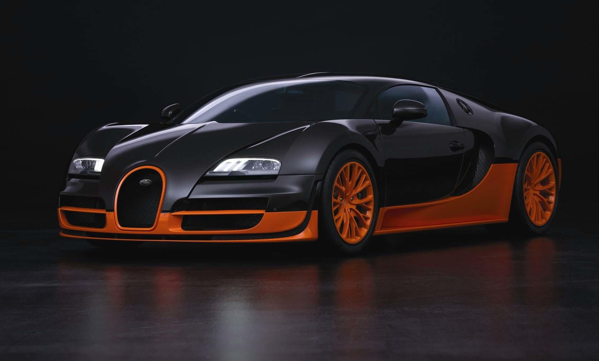Bugatti Veyron ...