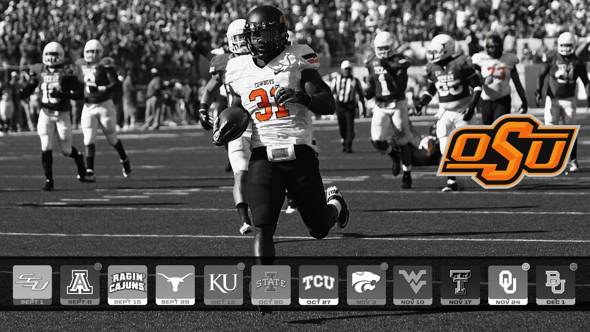 Oklahoma State Football Wallpaper 73 Pictures
