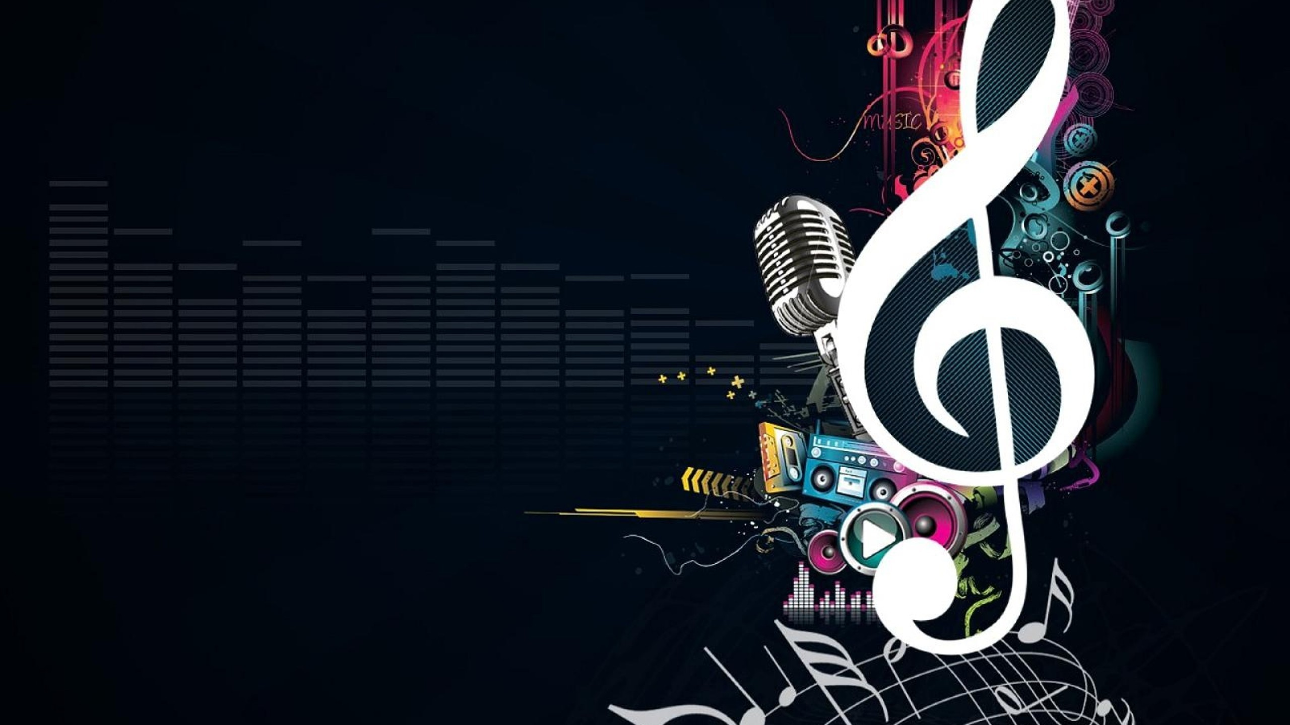 Music Wallpaper Abstract 69 Pictures