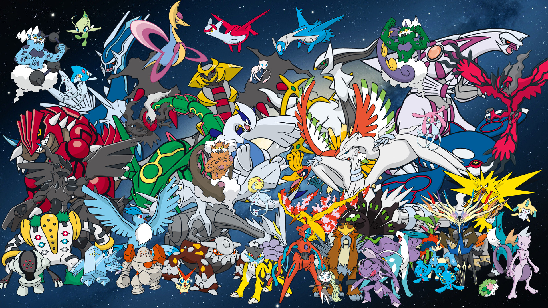 All Legendary Pokemon Wallpaper 54 Pictures