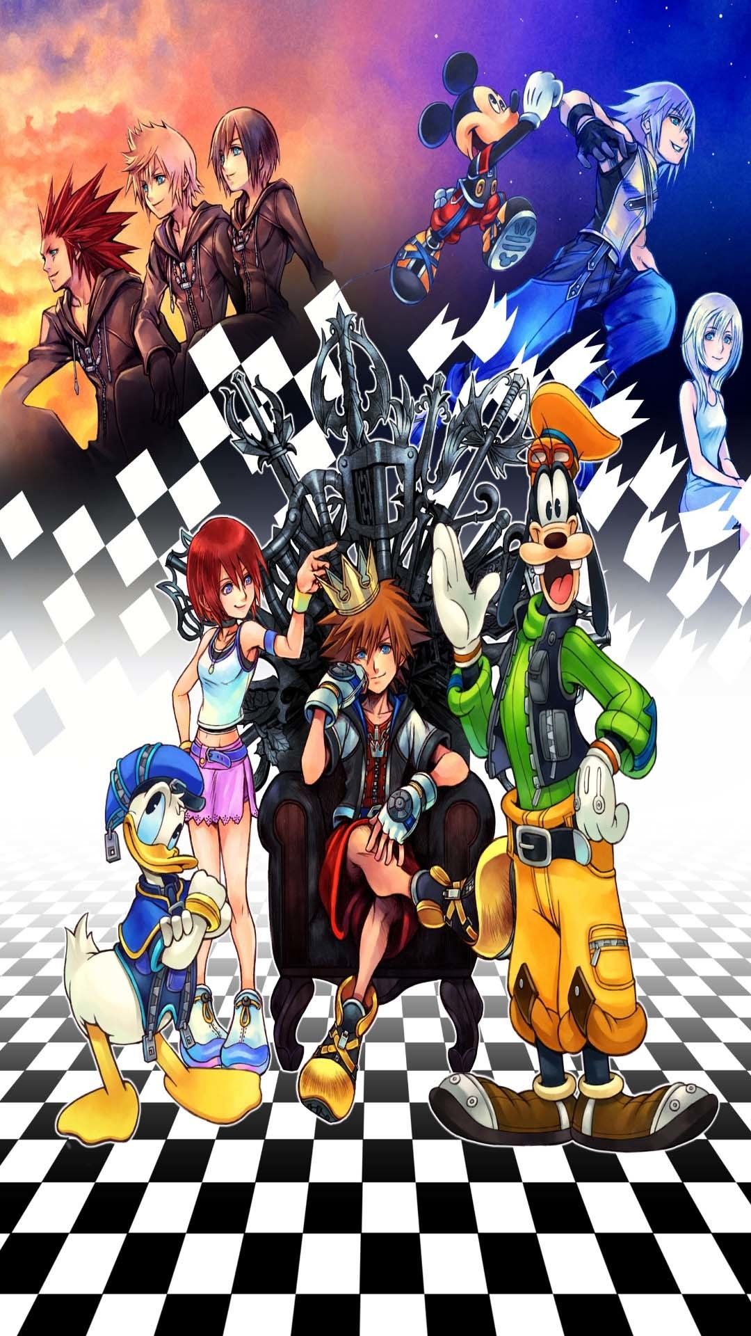 Kingdom Hearts Phone Wallpaper 64 Pictures