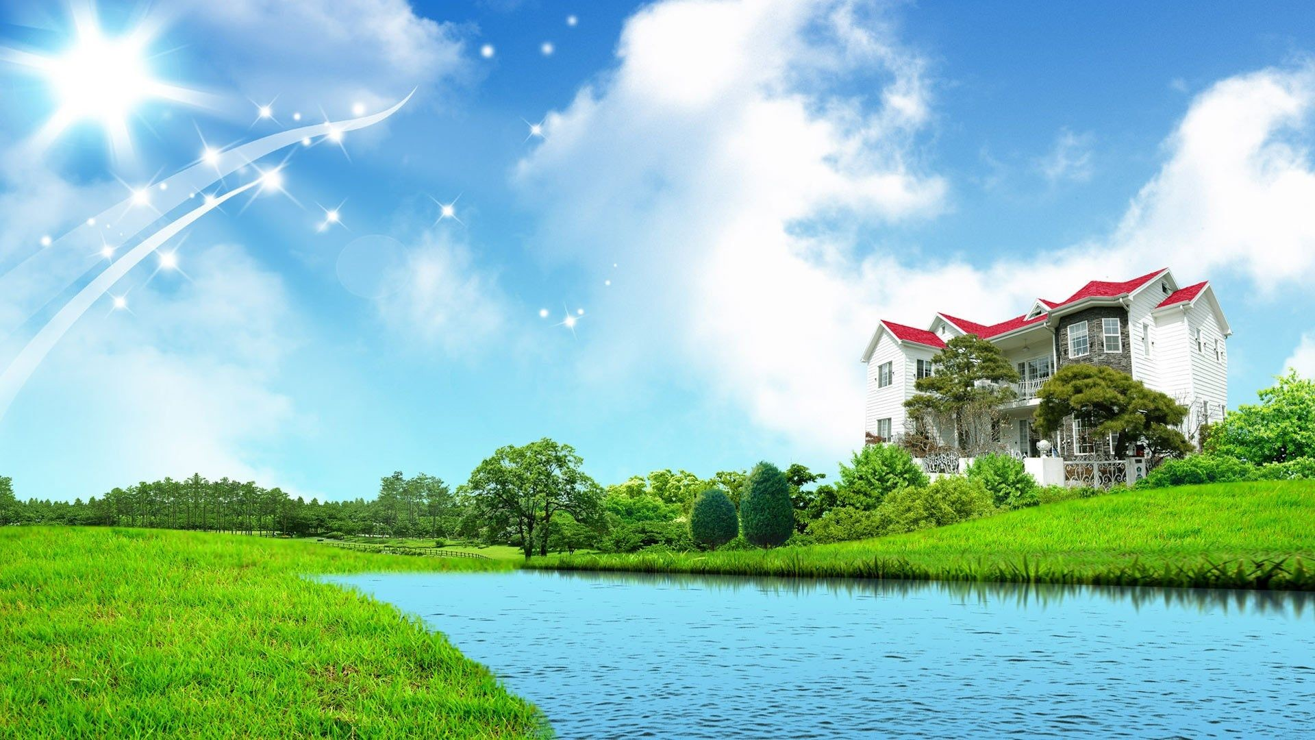 . Nature Home Wallpaper  68  pictures