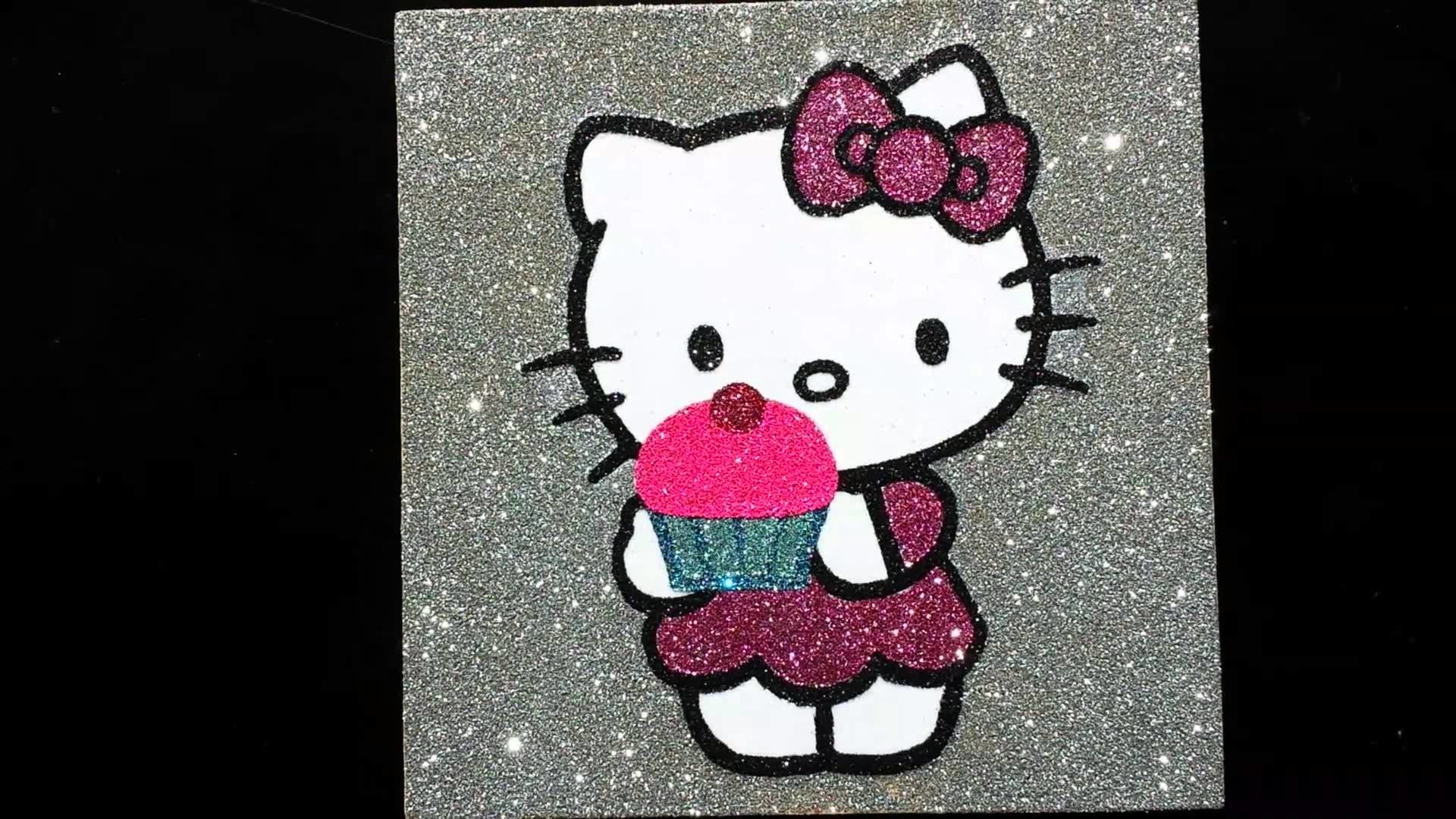 Pink And Black Hello Kitty Background 59 Pictures