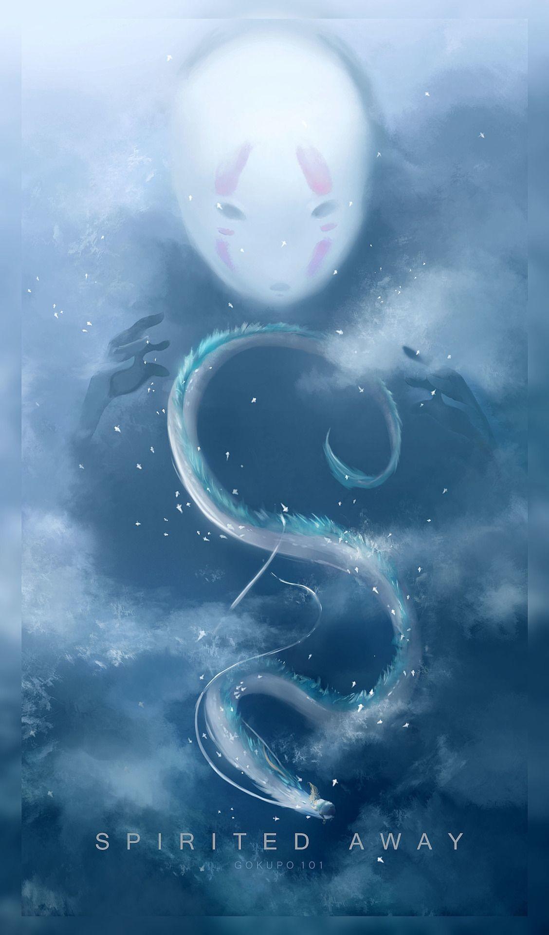 Aesthetic Spirited Away Phone Background Gambarku