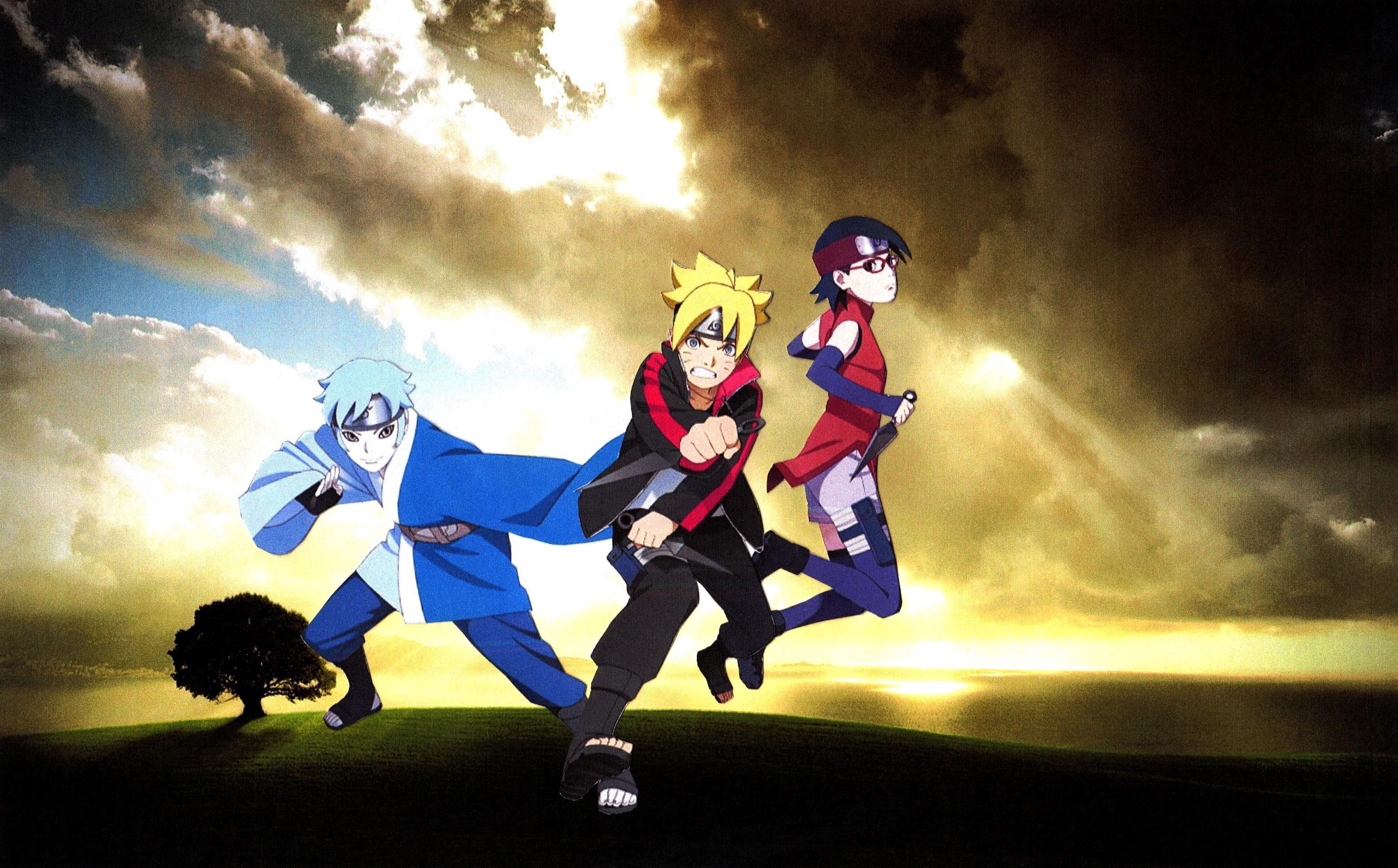 Gambar Anime Boruto Hd - Gambar Anime Keren