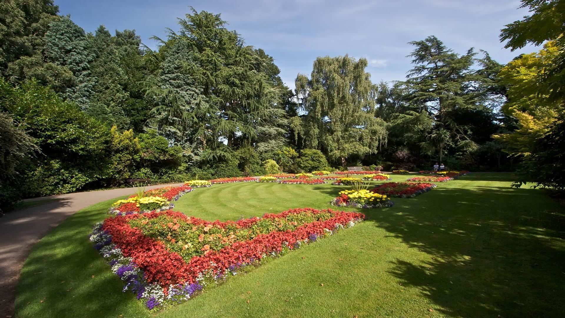 Flower Garden Backgrounds (47+ pictures)