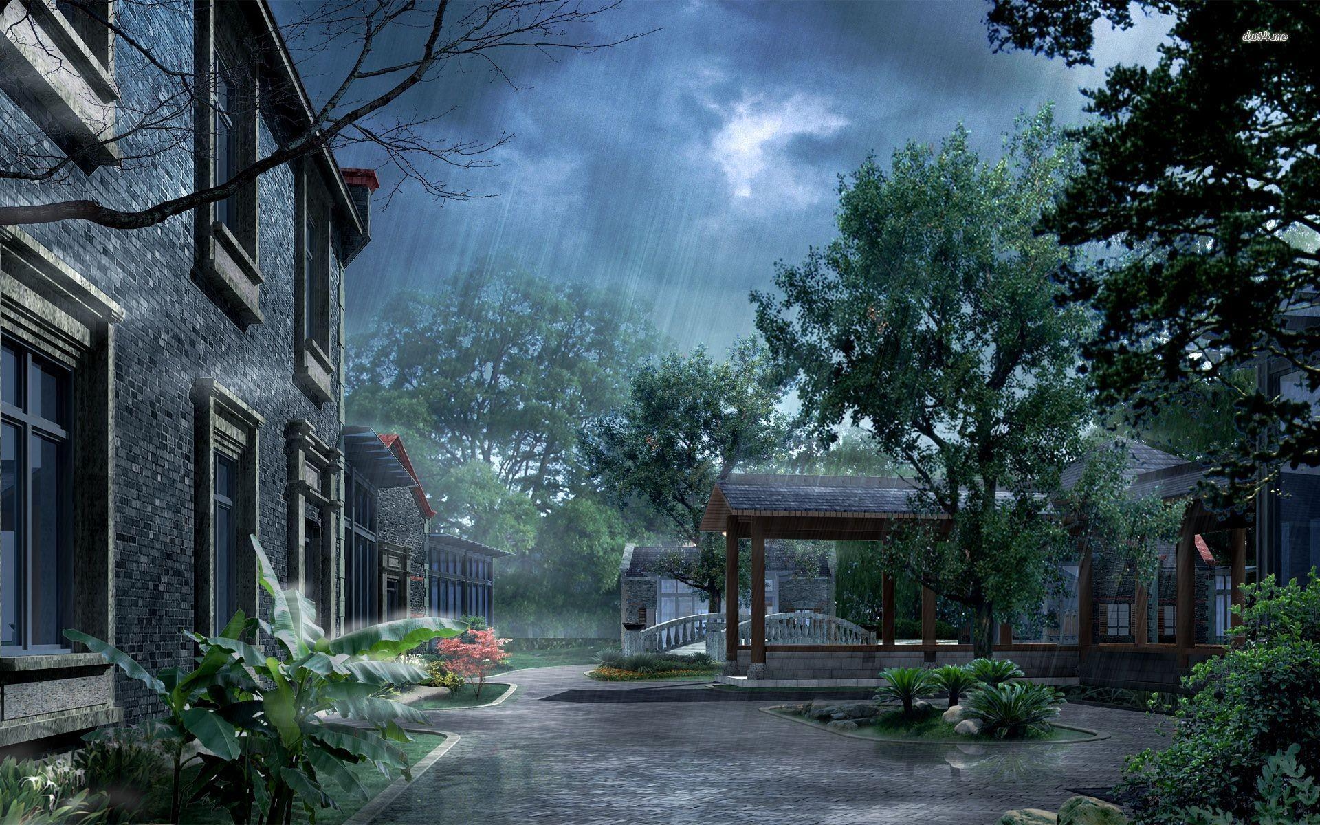 Rain Wallpaper 70 Pictures