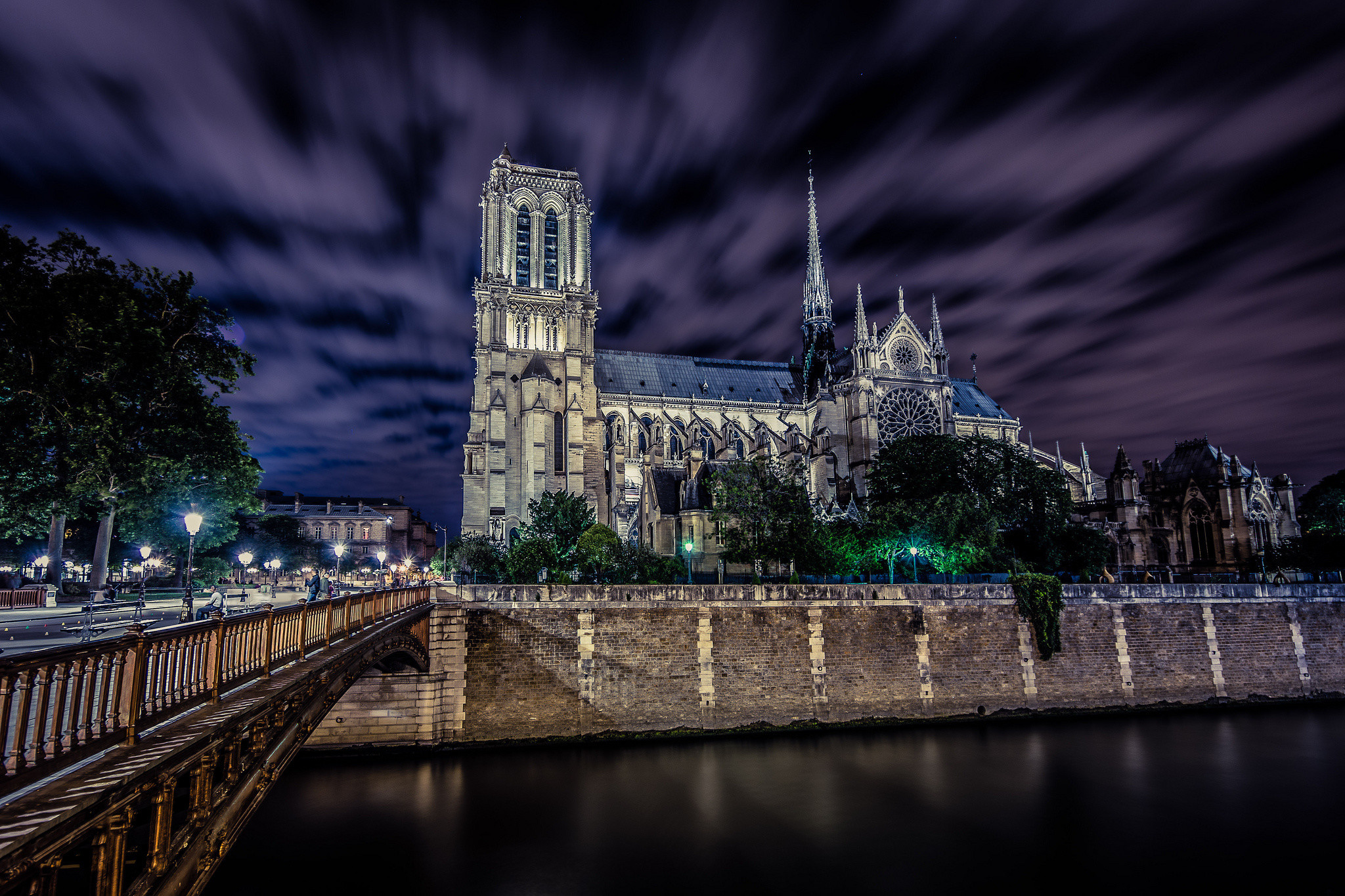 Notre Dame Wallpaper 71 Pictures